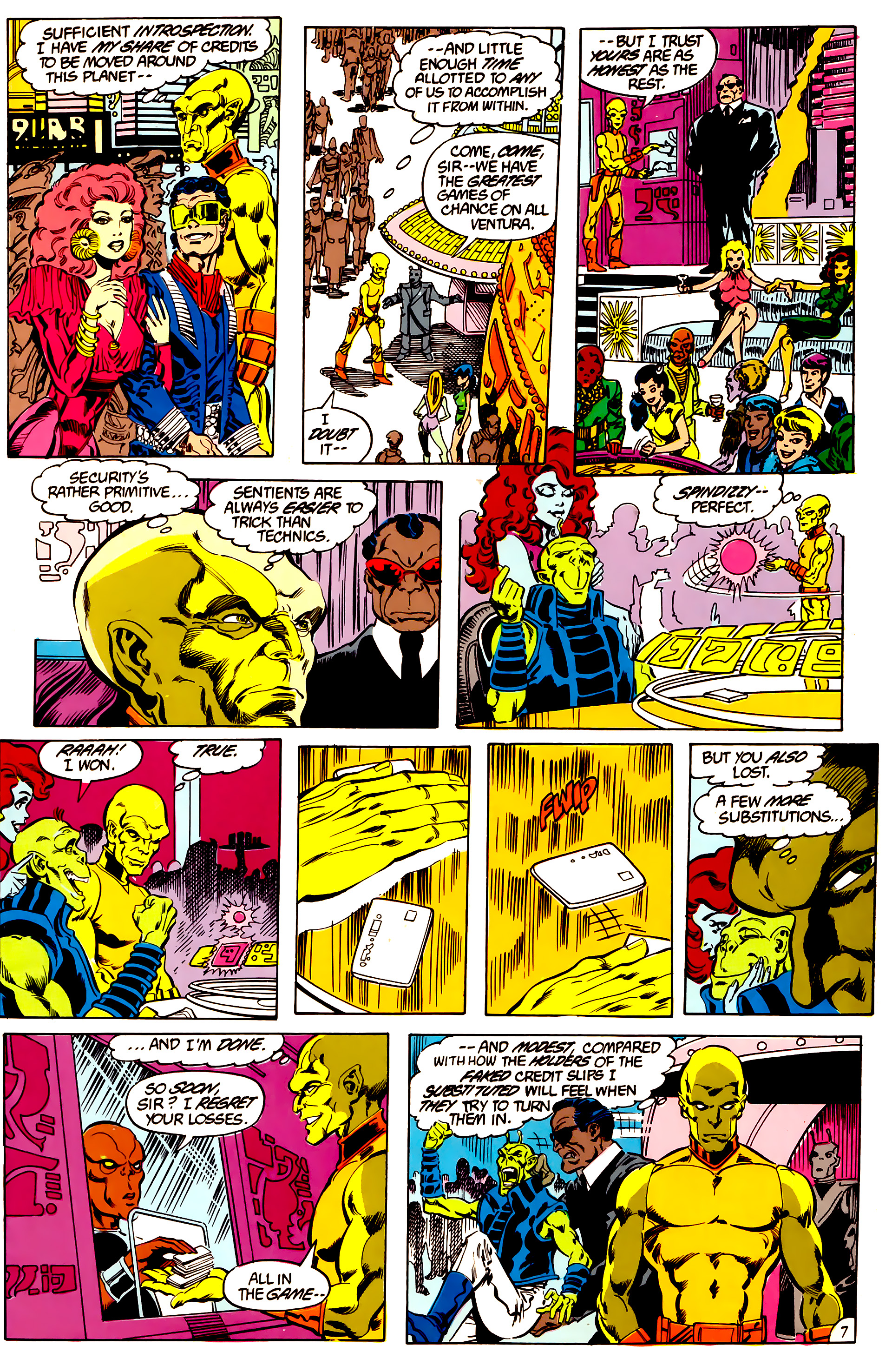 Legion of Super-Heroes (1984) 47 Page 7