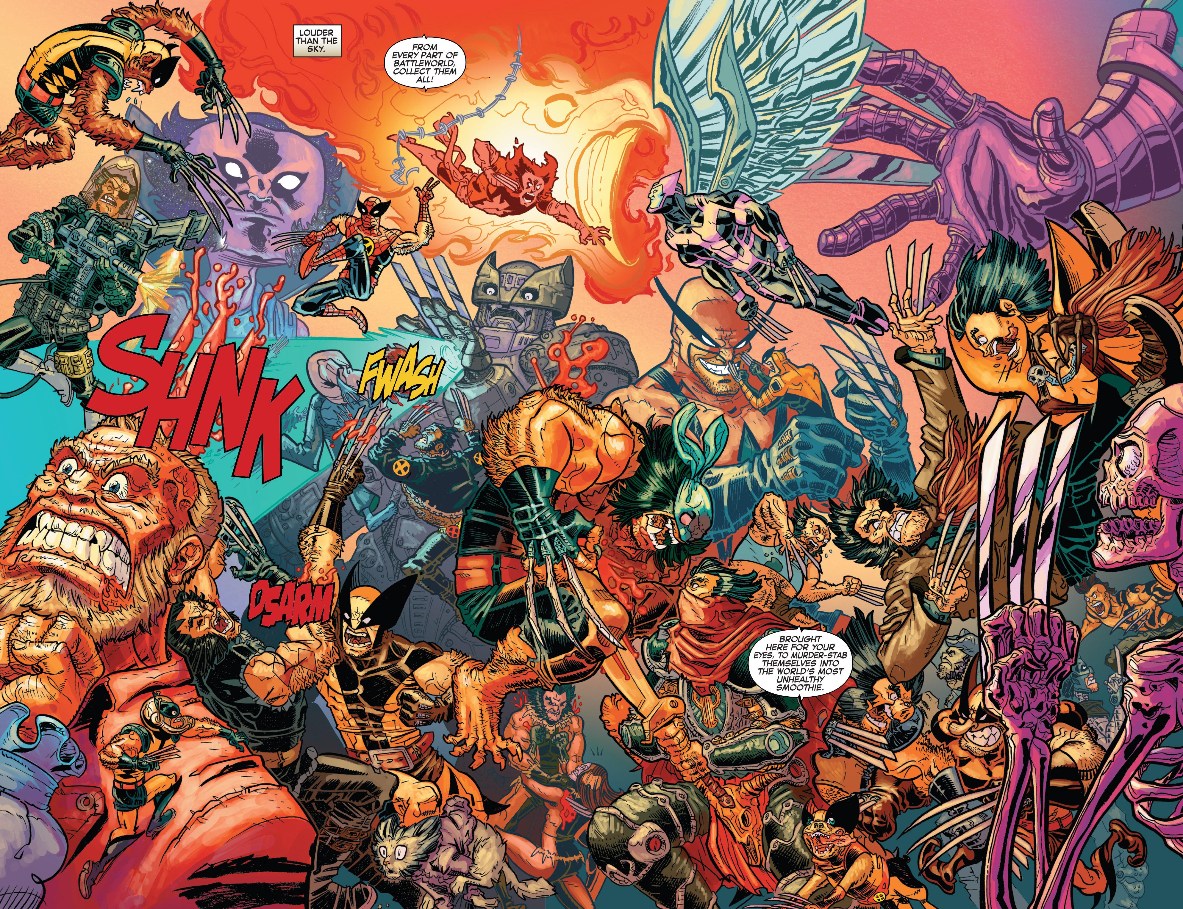 Read online Secret Wars: Battleworld comic -  Issue #3 - 4