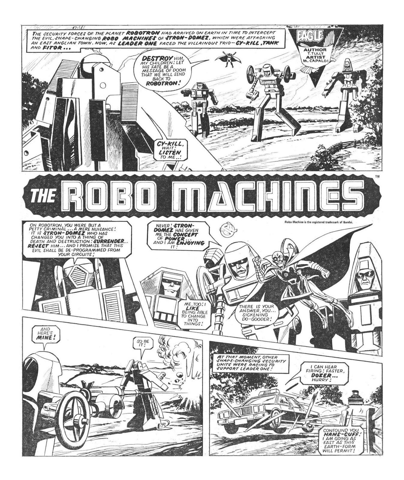 Read online Robo Machines comic -  Issue # TPB - 24