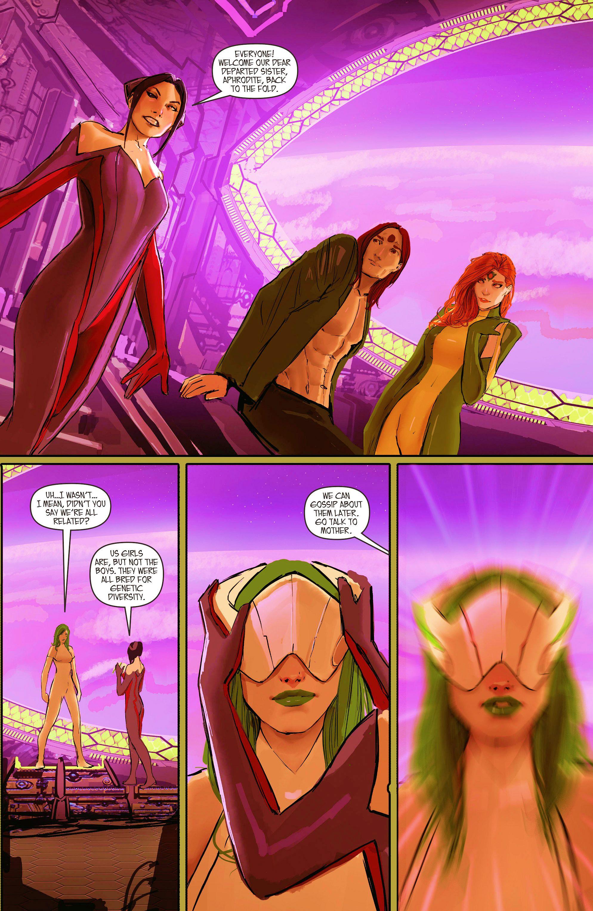 Read online Aphrodite IX (2013) comic -  Issue #11 - 6