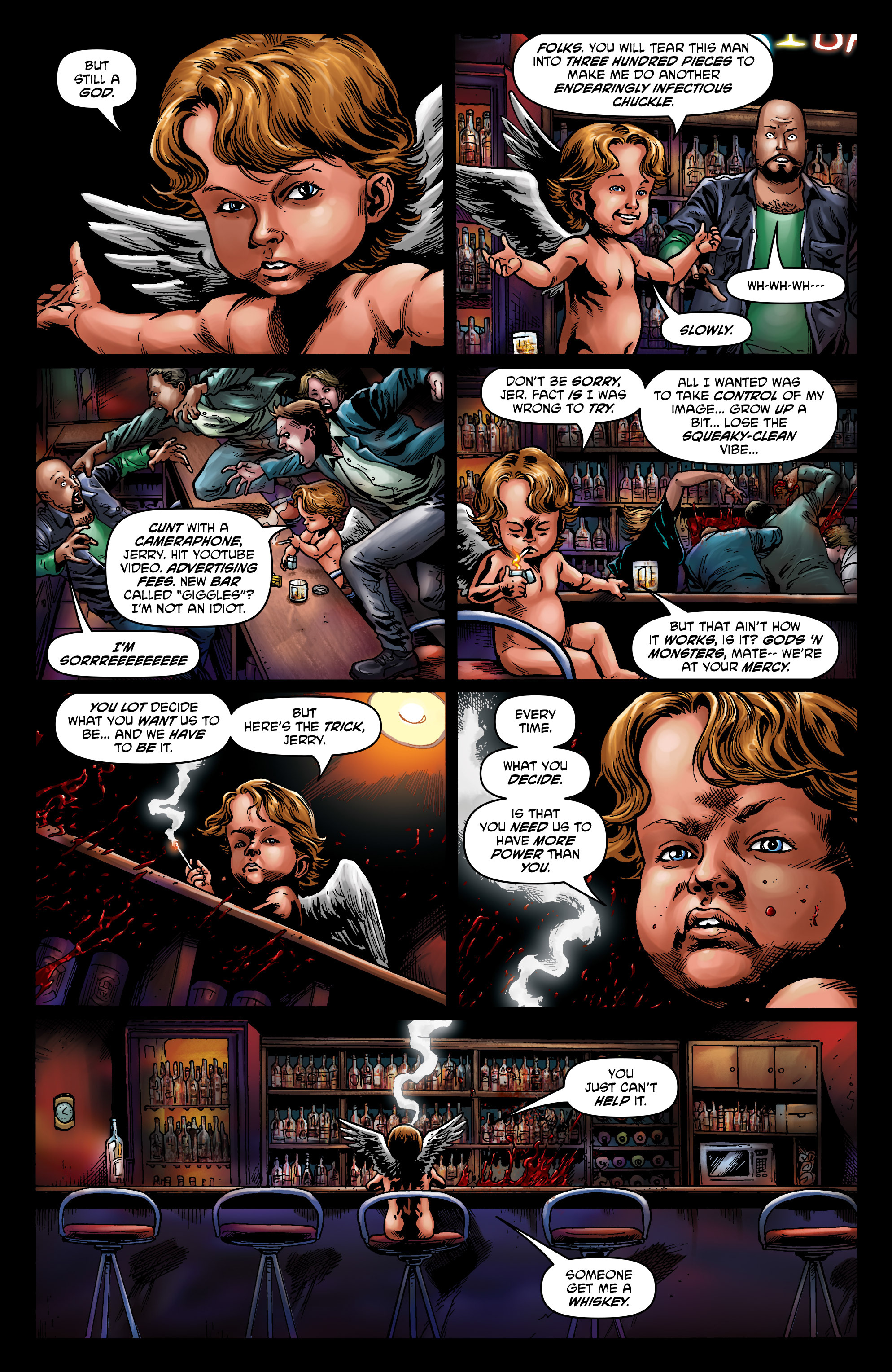 Read online God is Dead: Book of Acts comic -  Issue # Alpha - 48