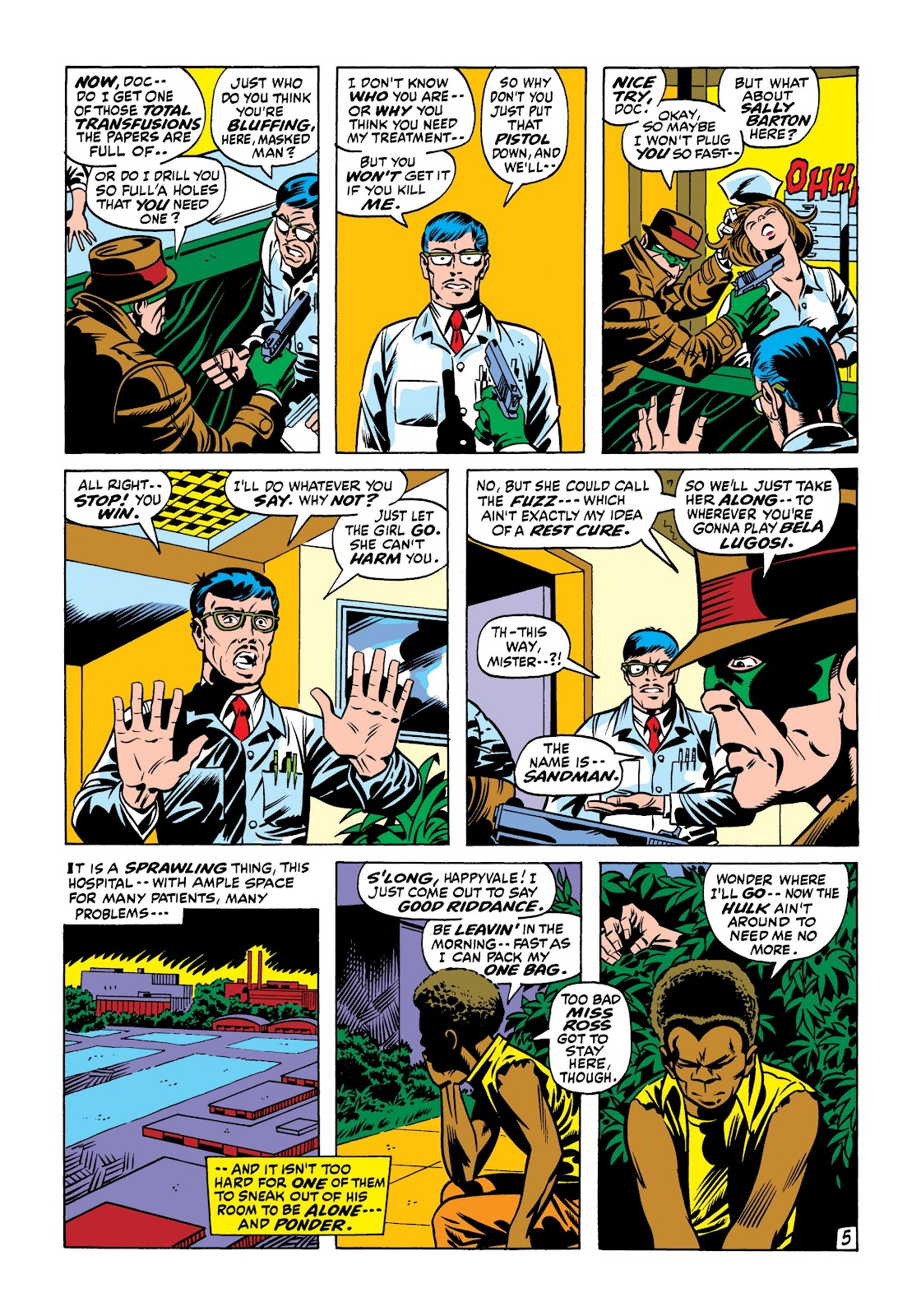 Read online Marvel Masterworks: The Incredible Hulk comic -  Issue # TPB 7 (Part 1) - 72
