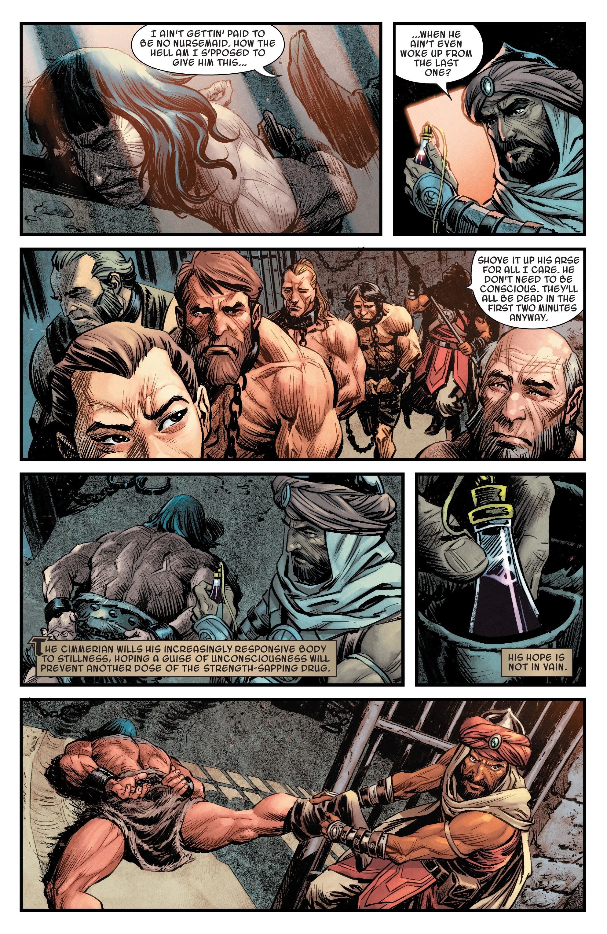 Read online Savage Sword of Conan comic -  Issue #6 - 11