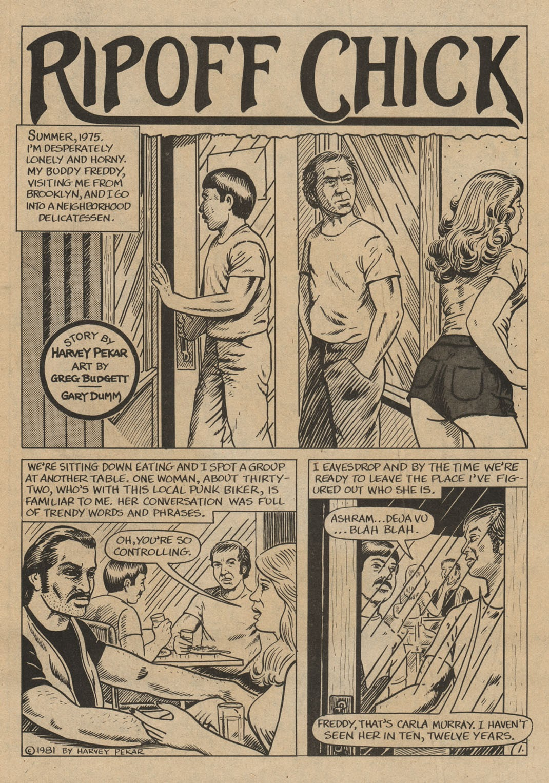 American Splendor (1976) issue 6 - Page 4