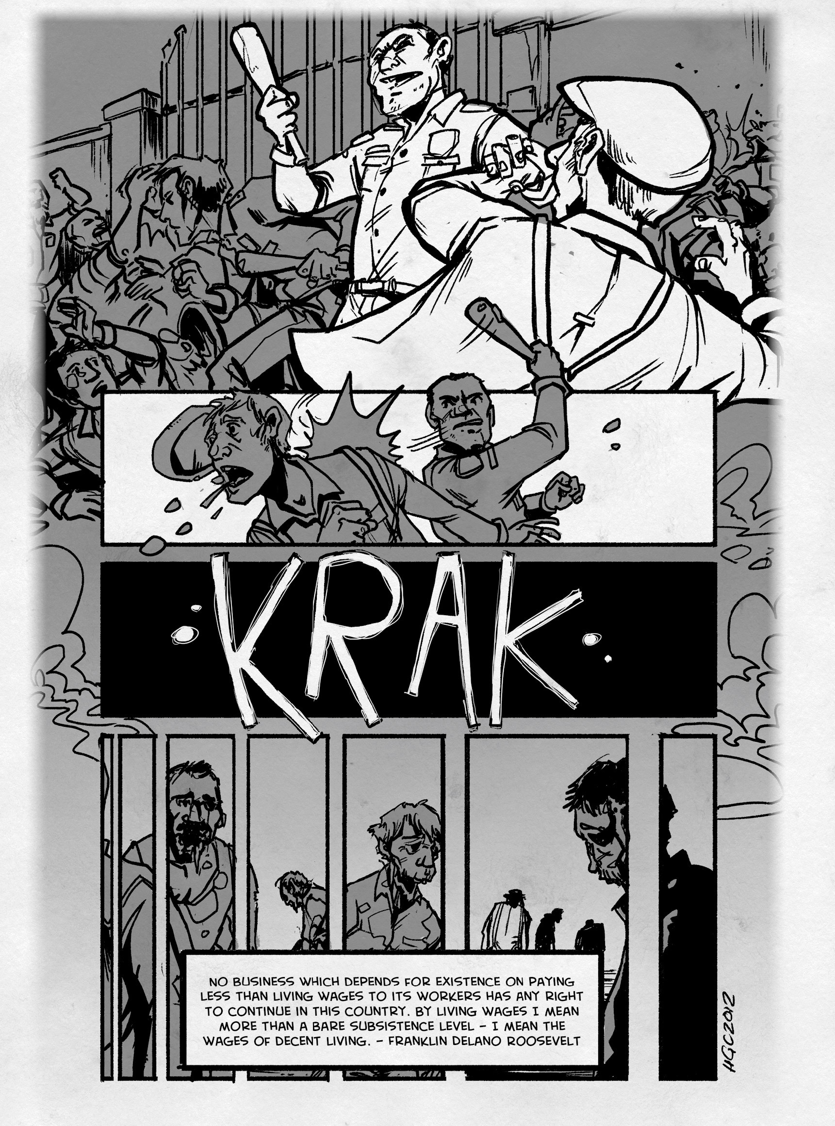 Read online FUBAR comic -  Issue #3 - 241
