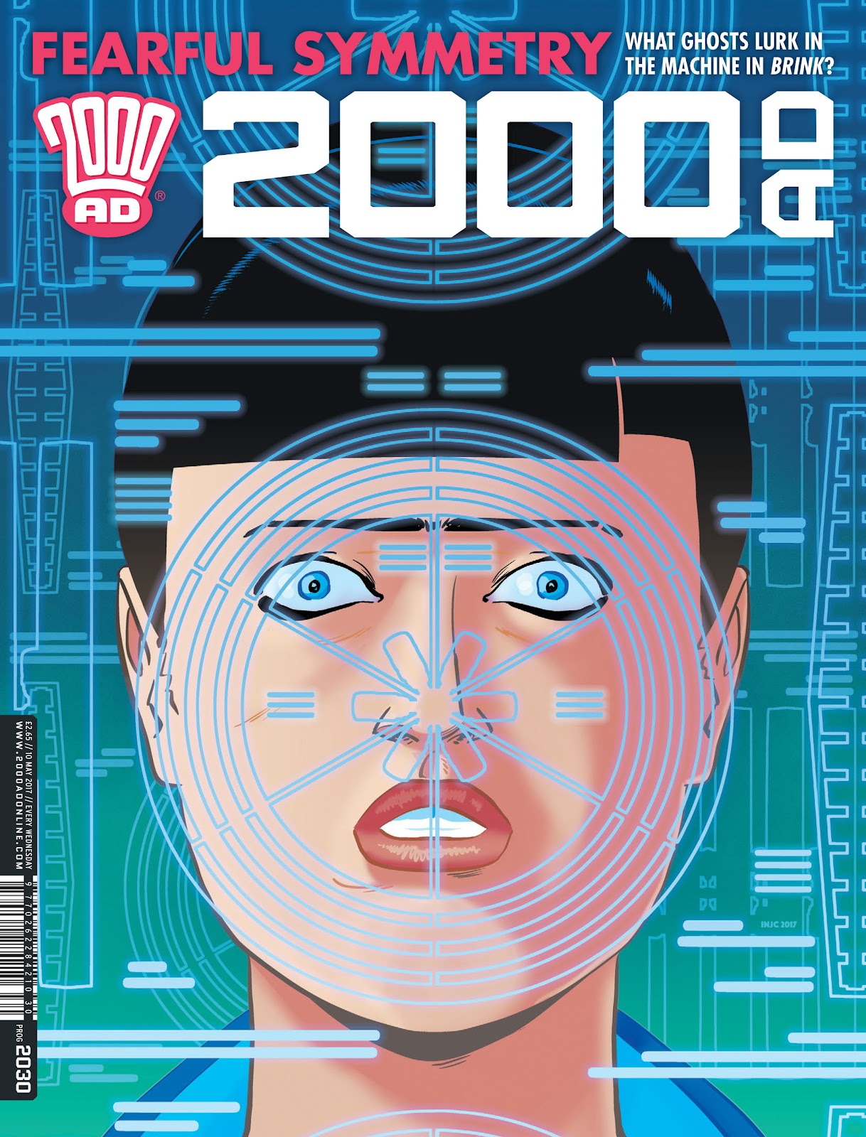 Read online 2000 AD comic -  Issue #2030 - 1