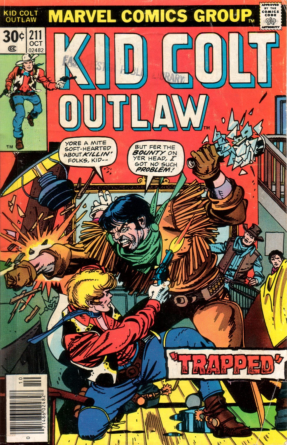 Kid Colt Outlaw issue 211 - Page 1