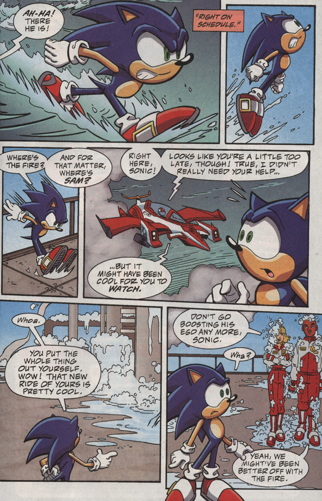 Read online Sonic X comic -  Issue #20 - 19