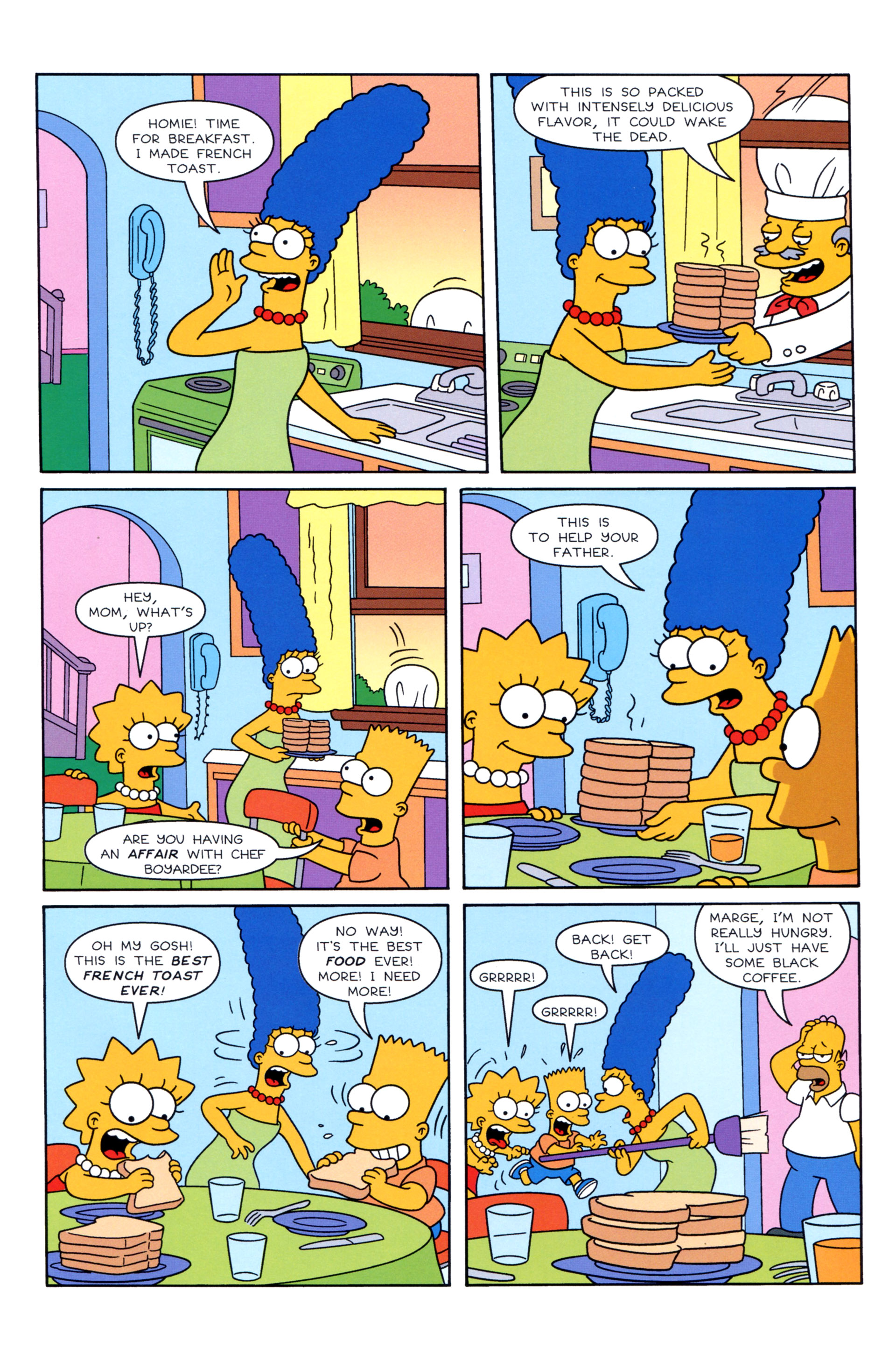 Read online Simpsons Illustrated (2012) comic -  Issue #8 - 19