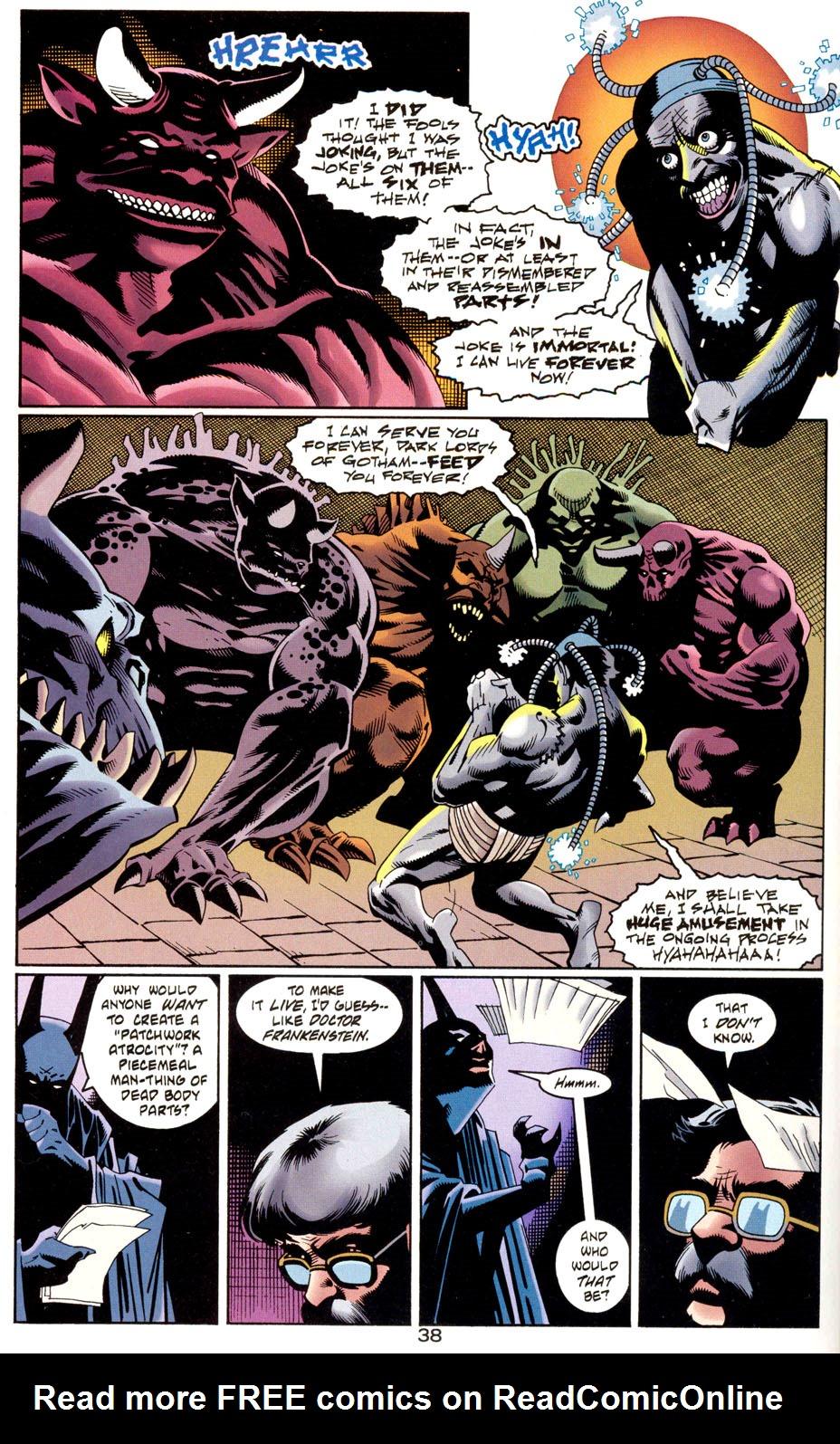 Read online Batman: Haunted Gotham comic -  Issue #1 - 40