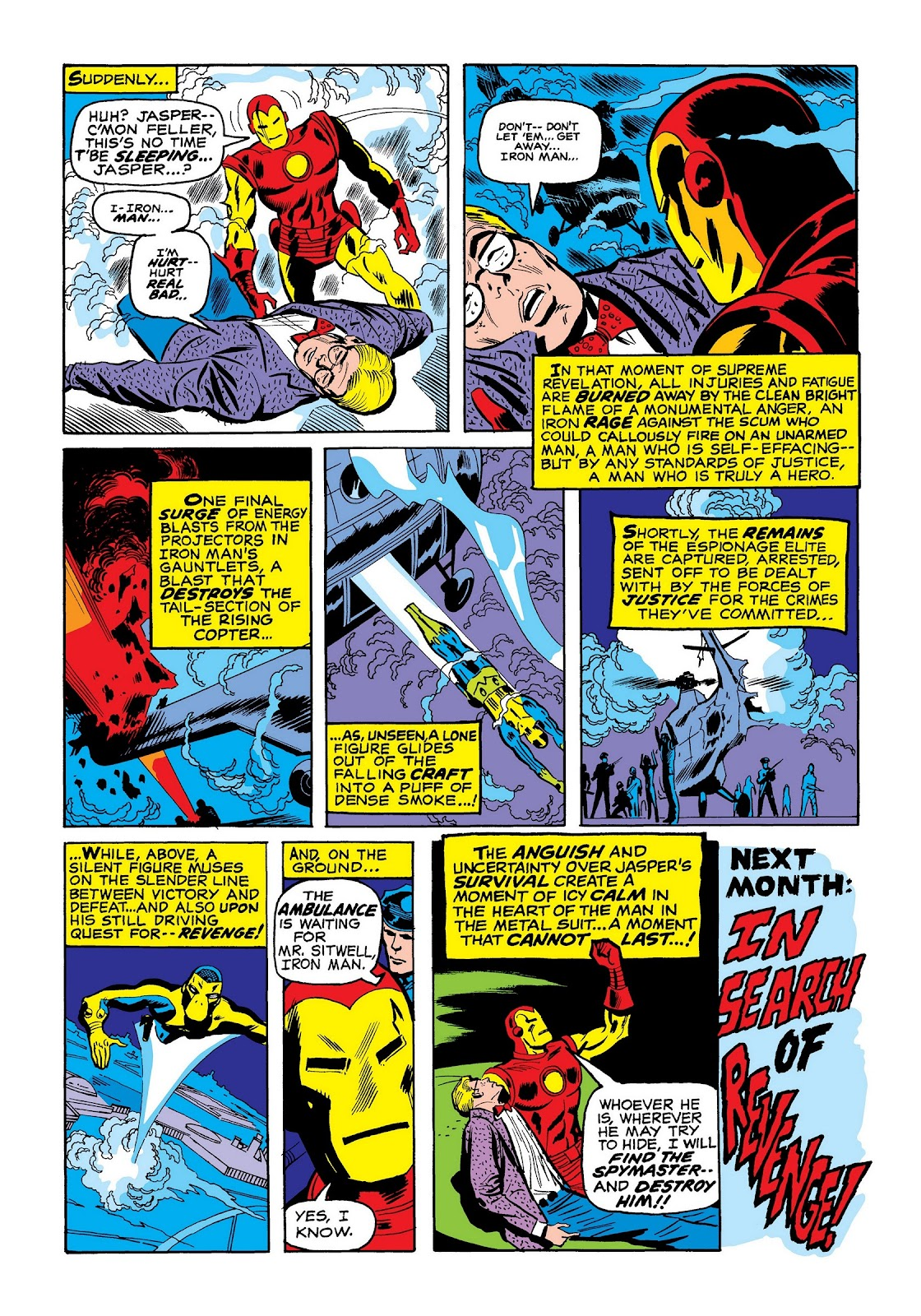 Read online Marvel Masterworks: The Invincible Iron Man comic -  Issue # TPB 7 (Part 2) - 88