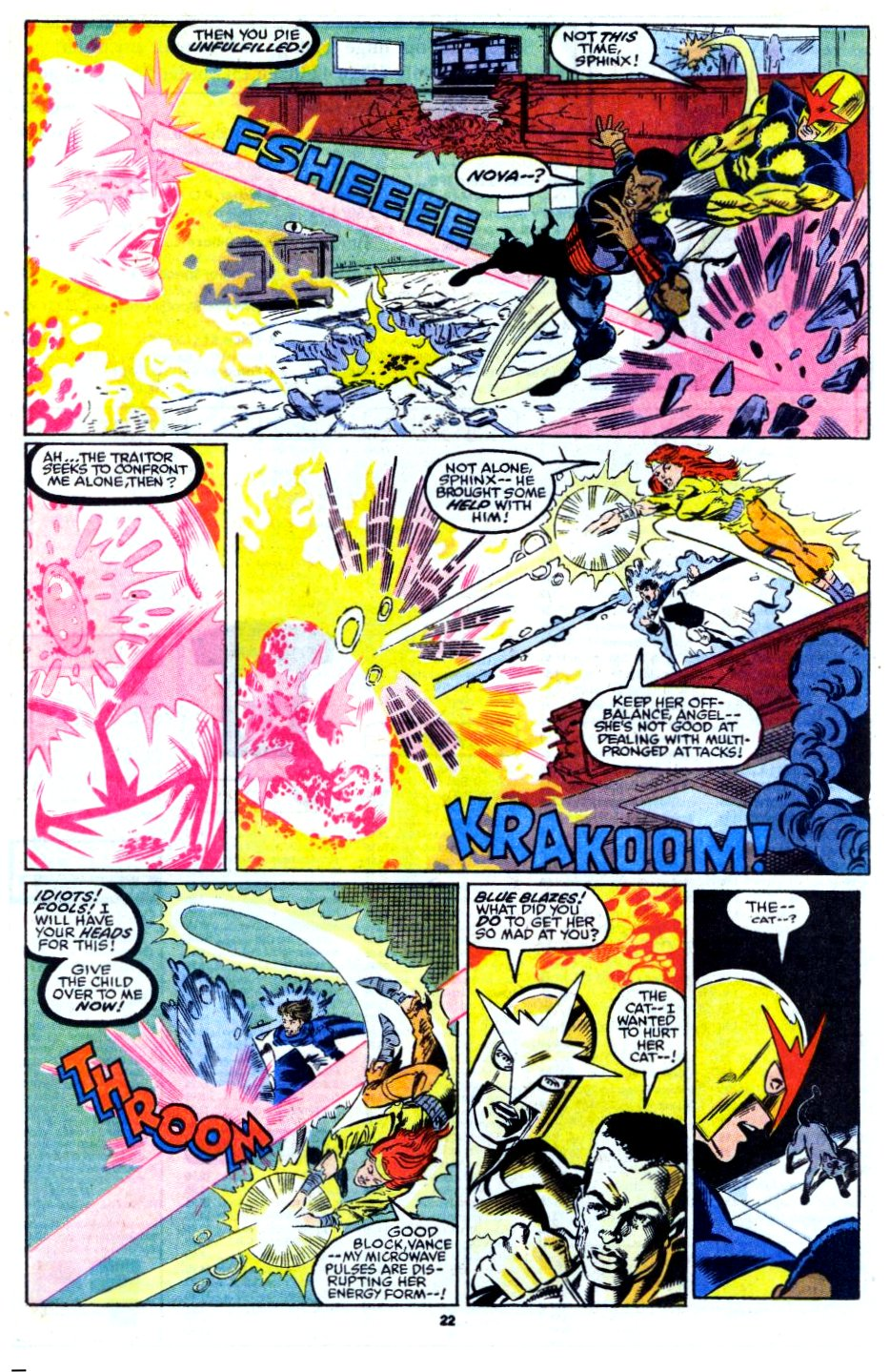 The New Warriors Issue #13 #17 - English 18