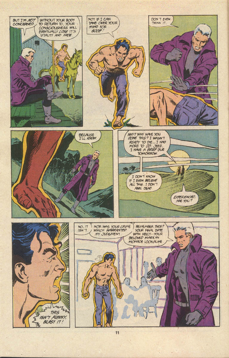 Read online Justice (1986) comic -  Issue #17 - 12
