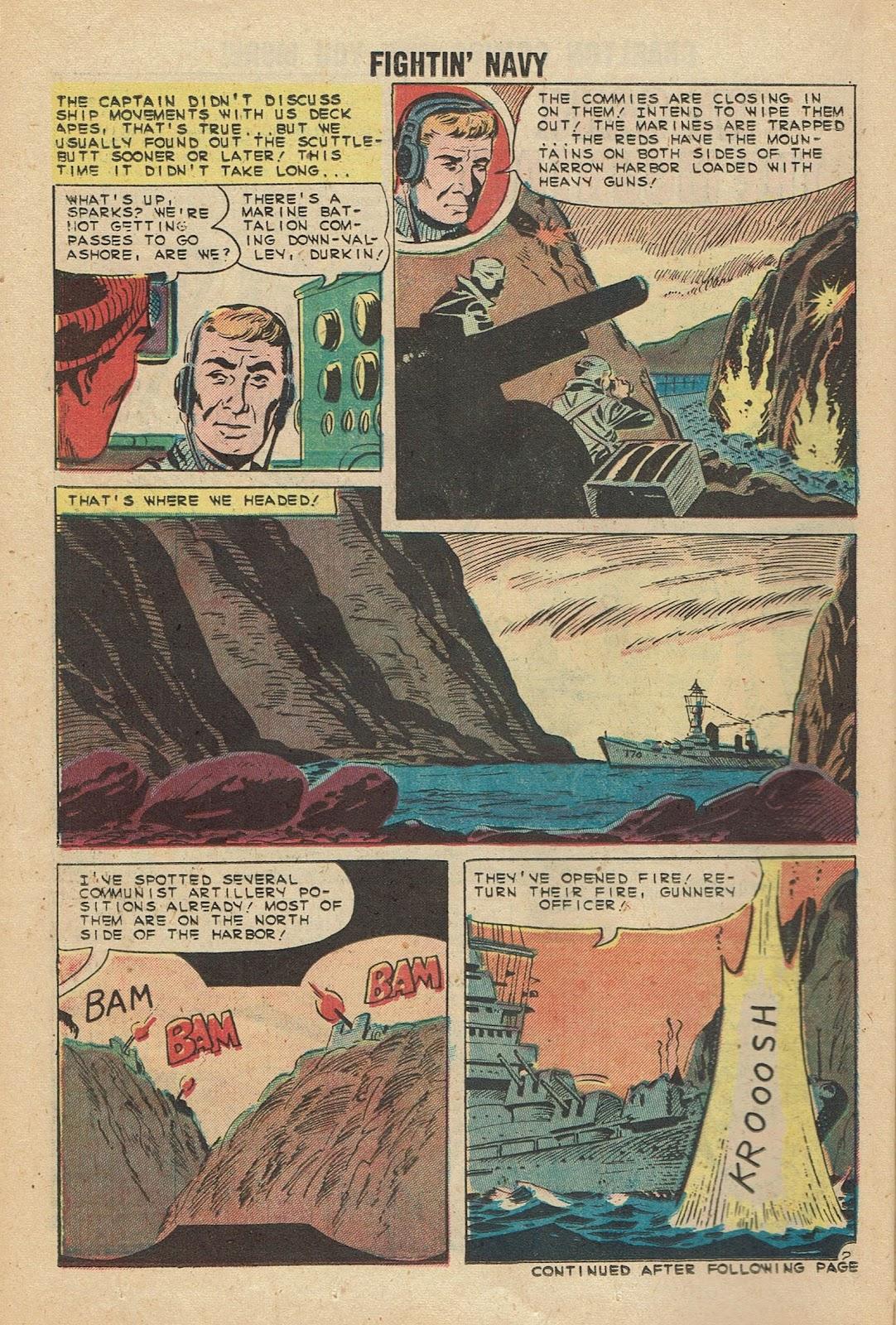 Read online Fightin' Navy comic -  Issue #96 - 14
