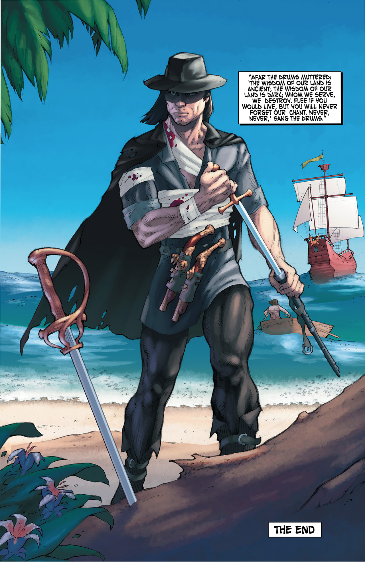 Read online Solomon Kane: Red Shadows comic -  Issue #4 - 25