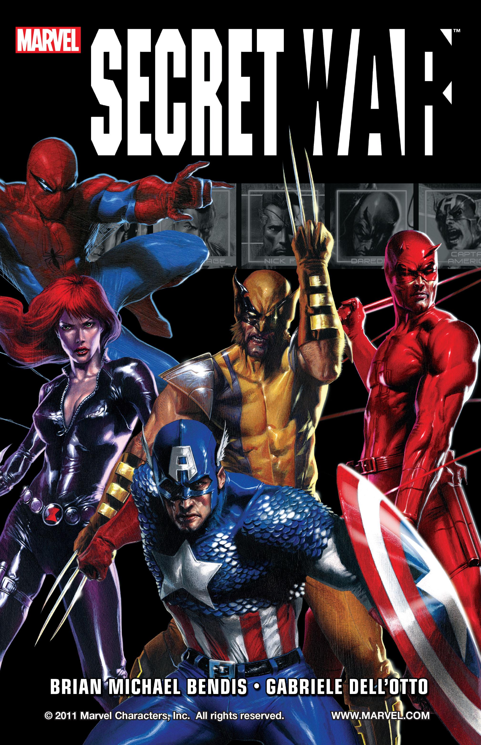 Read online Secret War comic -  Issue # Full - 1