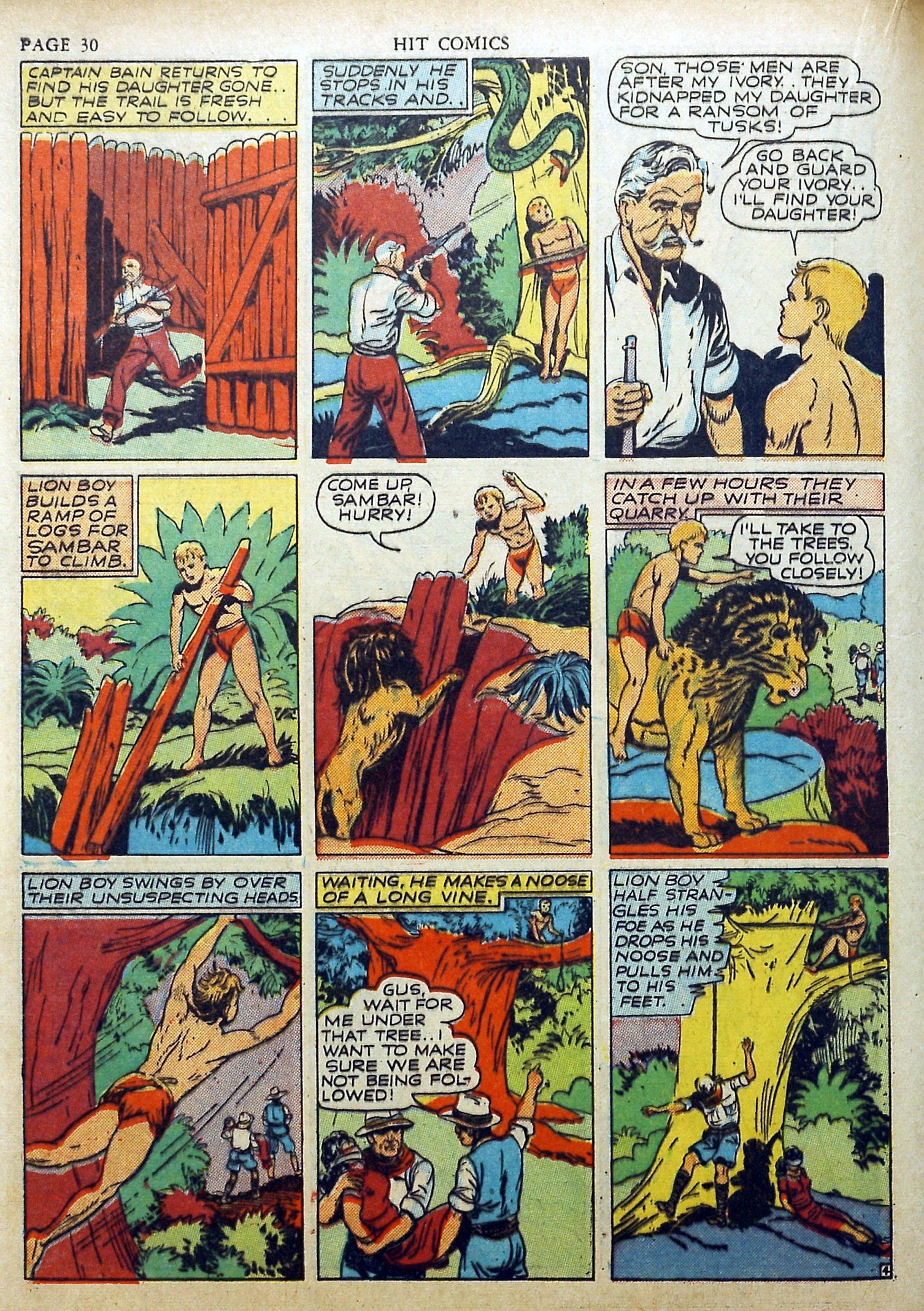 Read online Hit Comics comic -  Issue #17 - 32