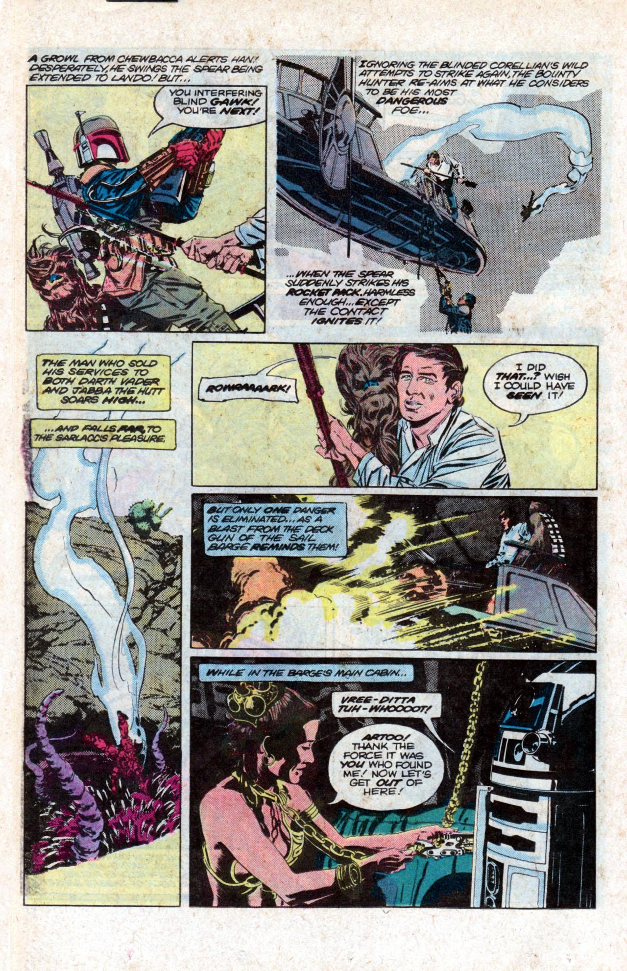 Read online Star Wars: Return of the Jedi comic -  Issue #2 - 10