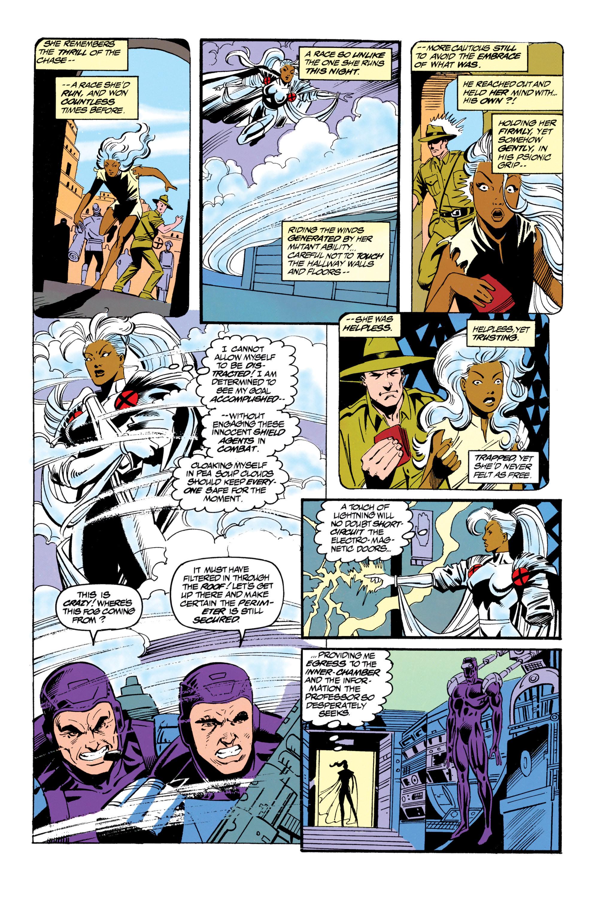 Read online Uncanny X-Men (1963) comic -  Issue #305 - 19