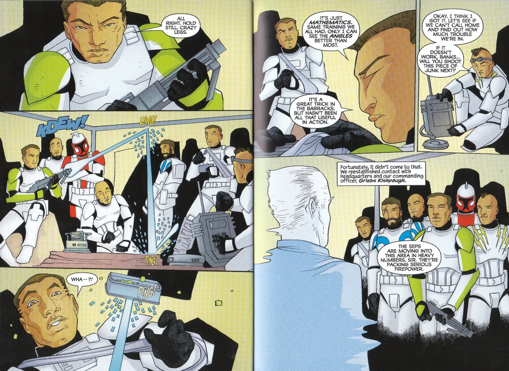 Read online Star Wars: The Clone Wars - The Enemy Within comic -  Issue # Full - 13