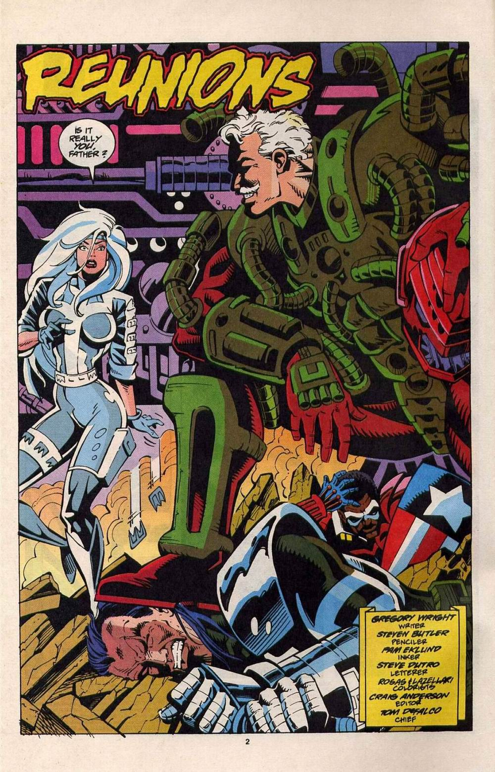 Read online Silver Sable and the Wild Pack comic -  Issue #25 - 3
