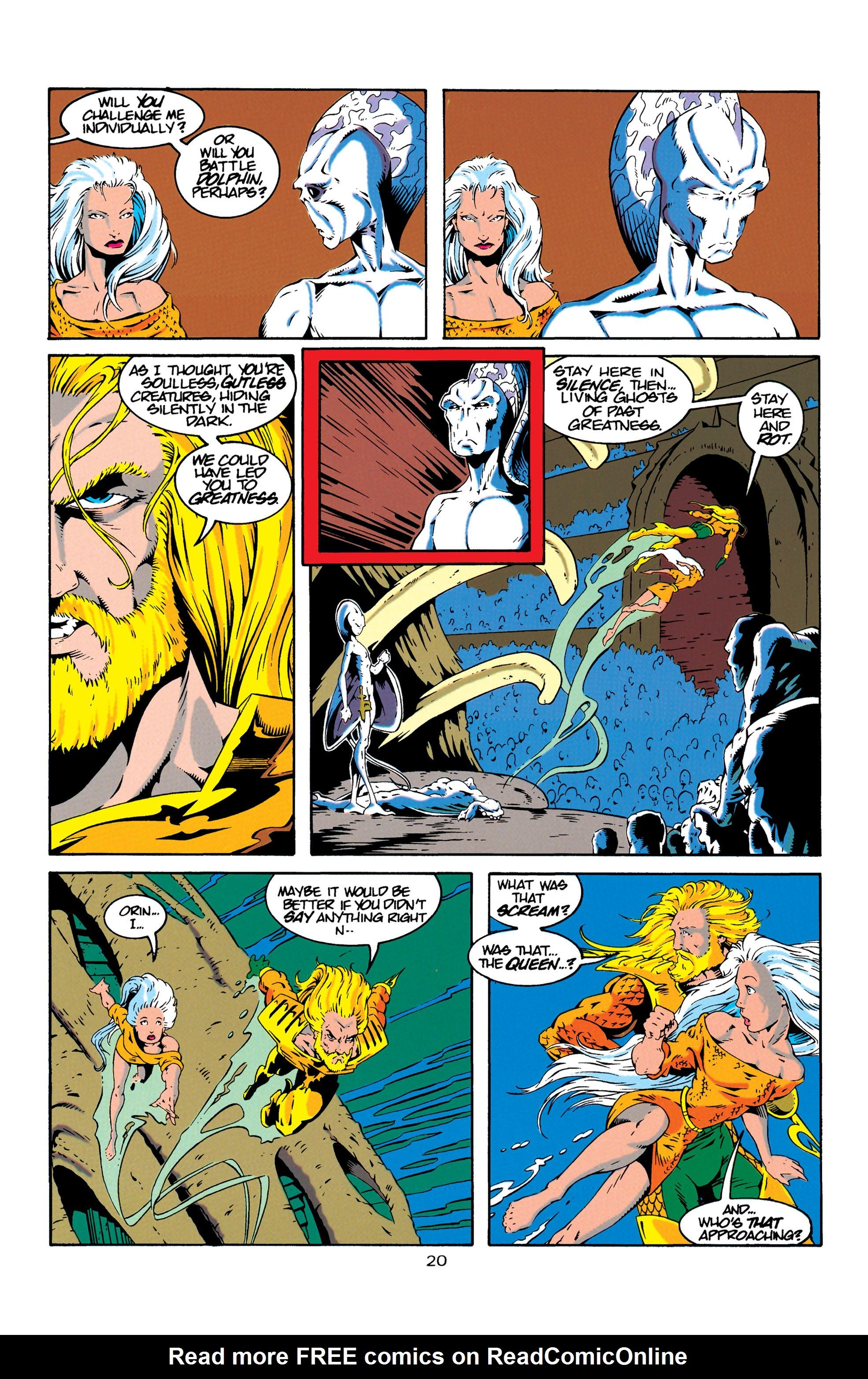 Read online Aquaman (1994) comic -  Issue #18 - 20
