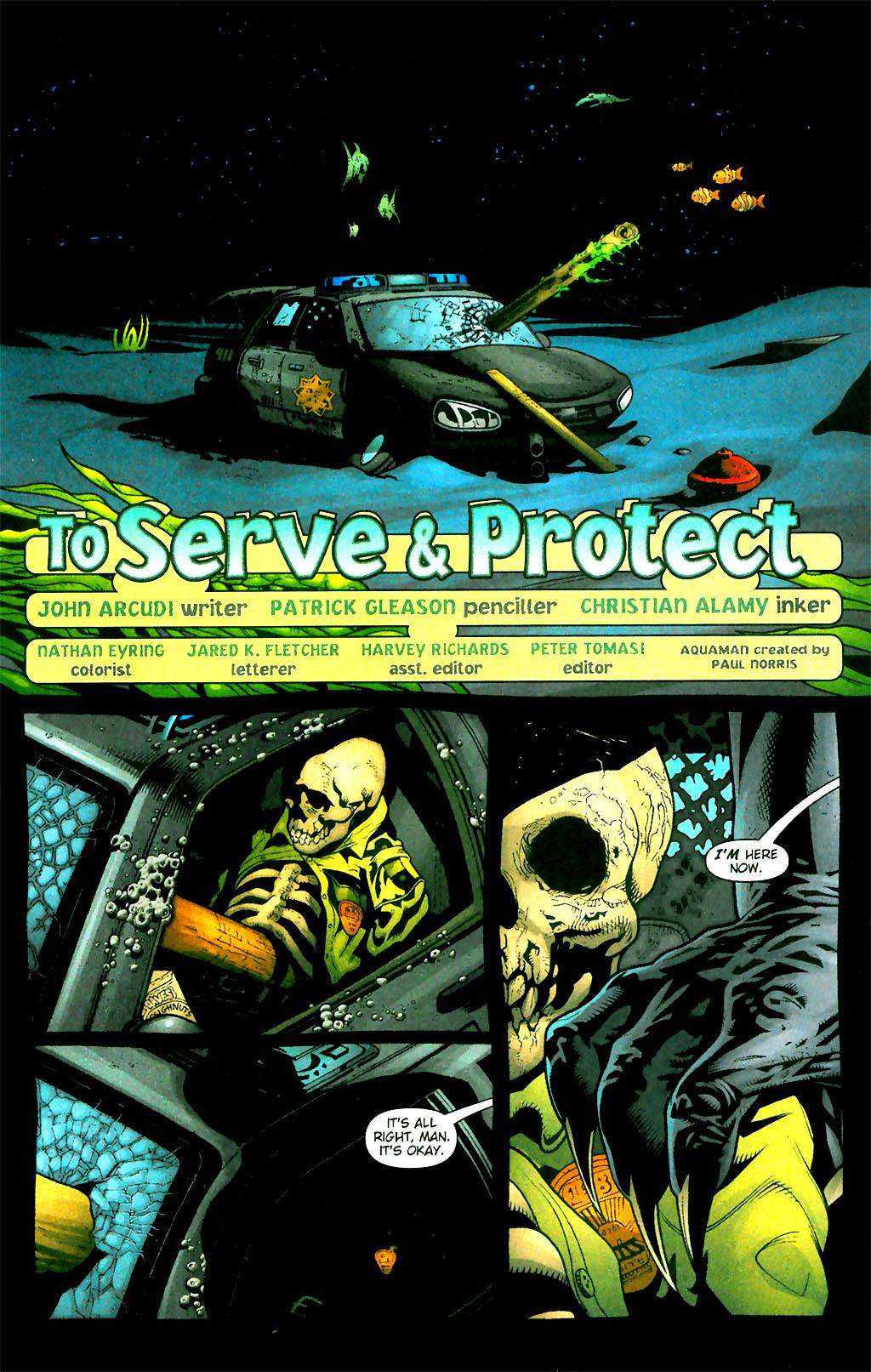 Read online Aquaman (2003) comic -  Issue #28 - 2