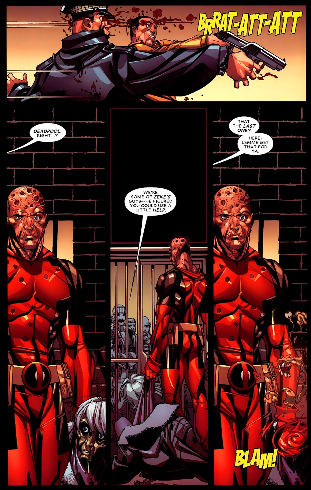 Read online Deadpool (2008) comic -  Issue #4 - 17