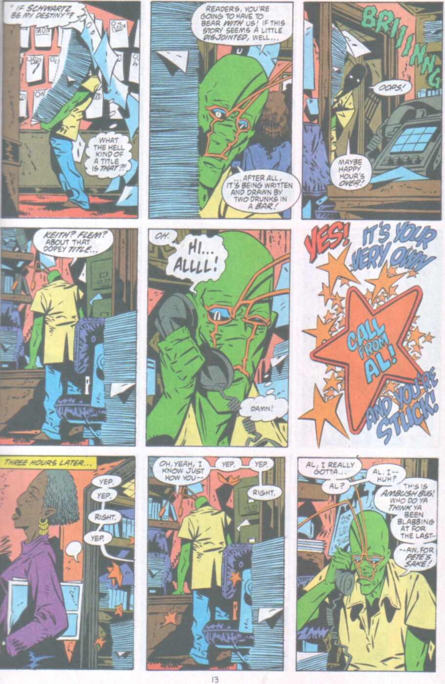 Read online Ambush Bug Nothing Special comic -  Issue # Full - 14