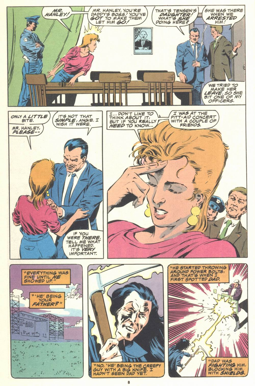 Read online Justice (1986) comic -  Issue #21 - 10