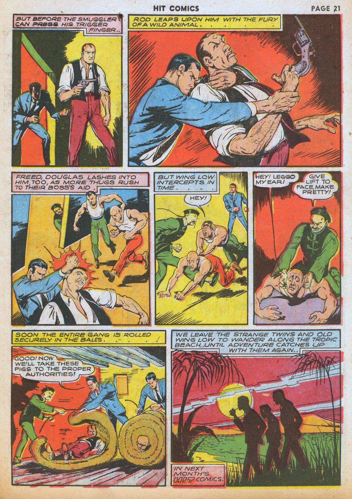 Read online Hit Comics comic -  Issue #12 - 23