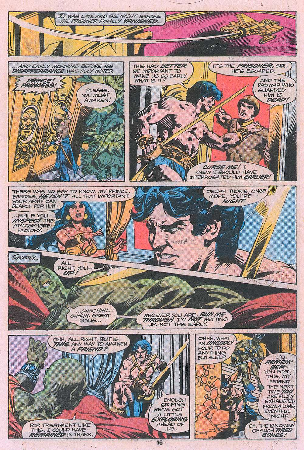 John Carter Warlord of Mars issue 2 - Page 18