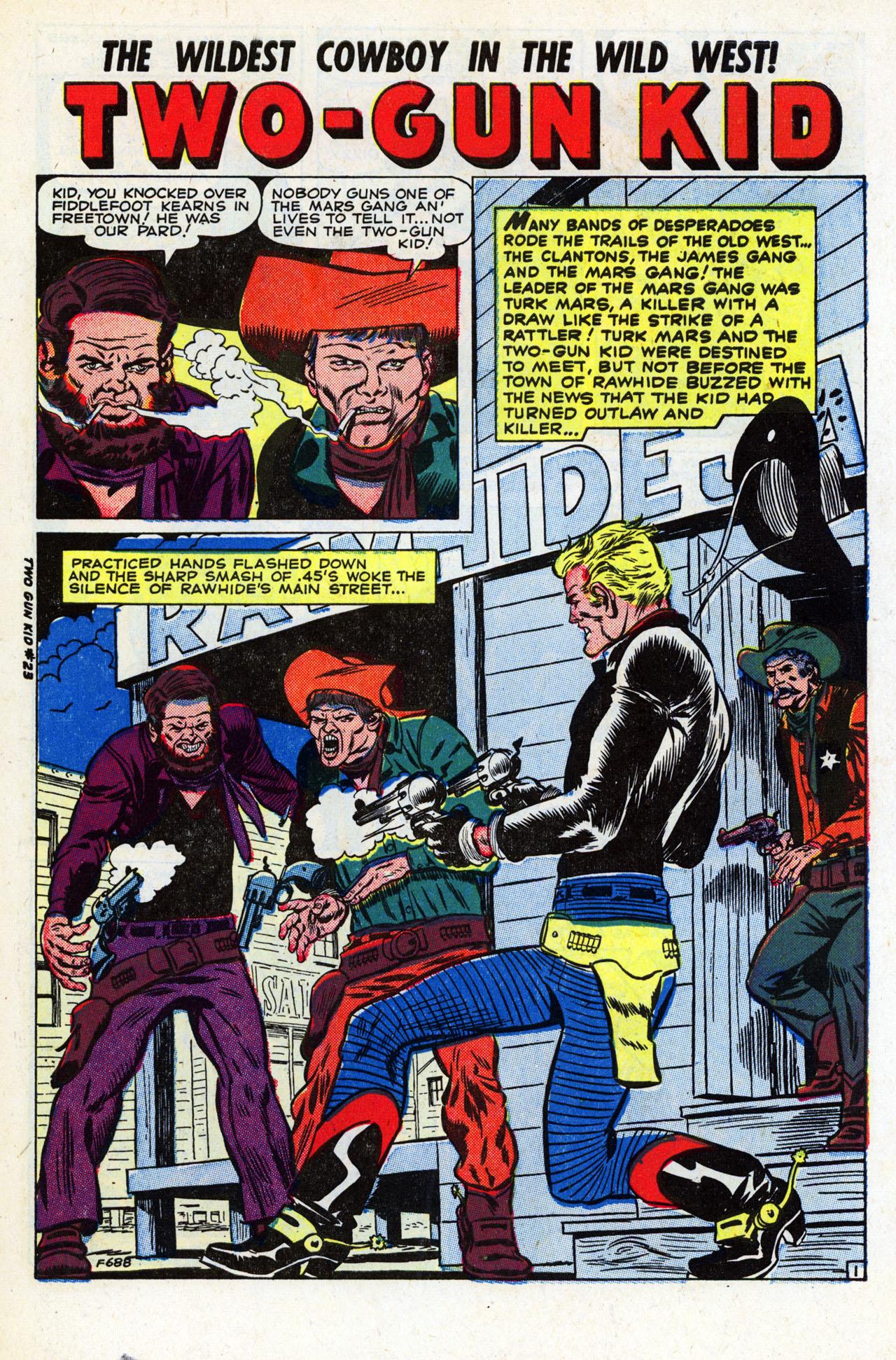 Read online Two-Gun Kid comic -  Issue #23 - 3