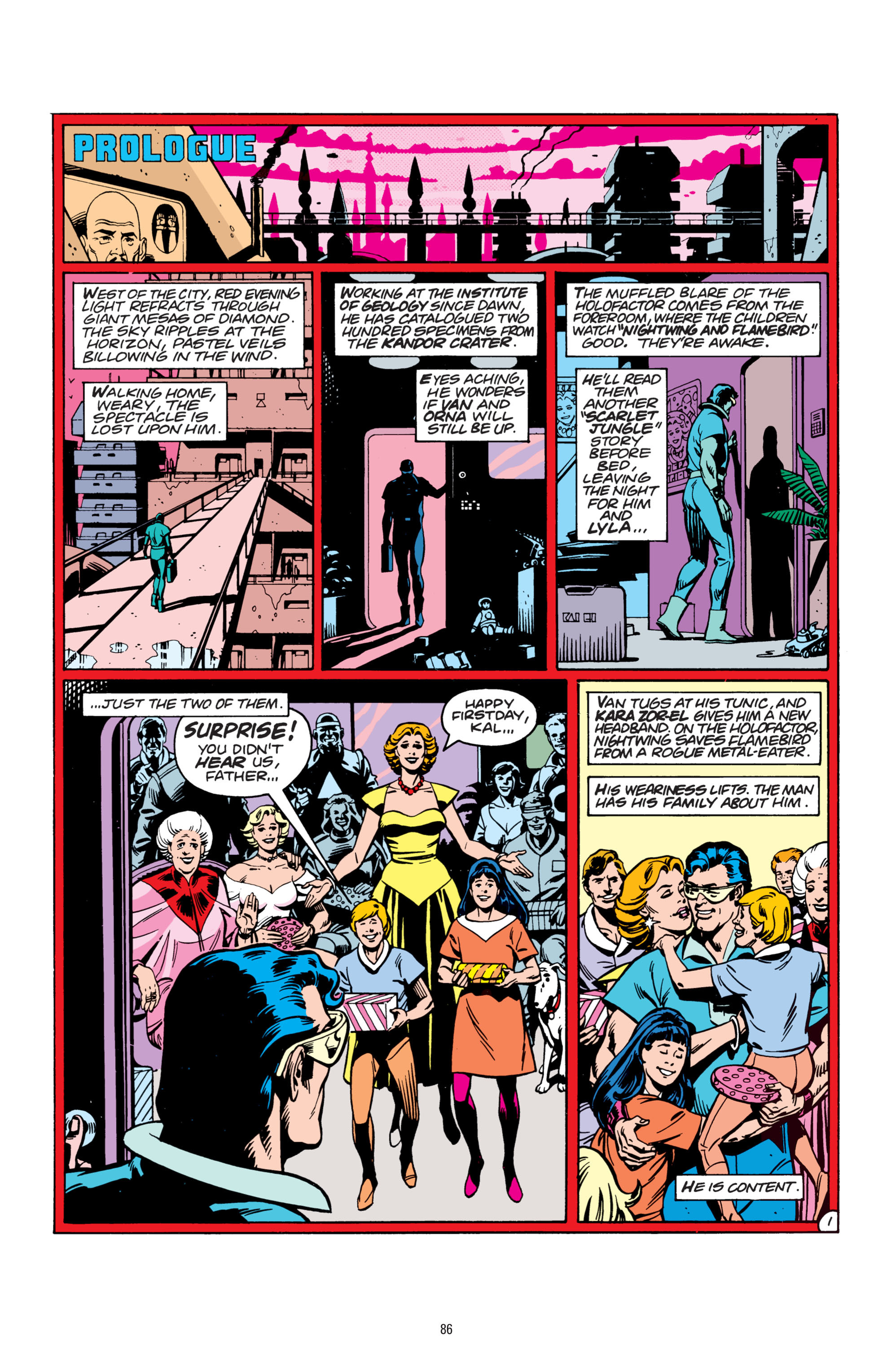 Read online Superman: Whatever Happened to the Man of Tomorrow? comic -  Issue # TPB - 85