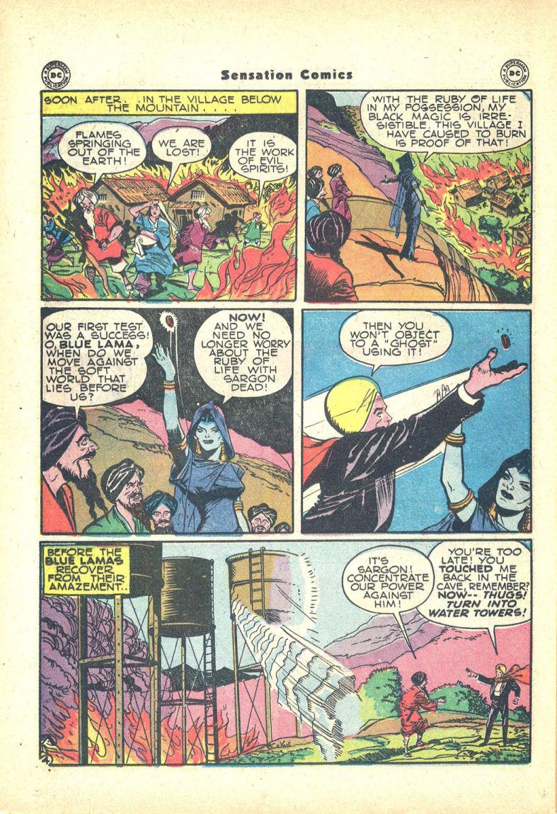 Read online Sensation (Mystery) Comics comic -  Issue #68 - 36