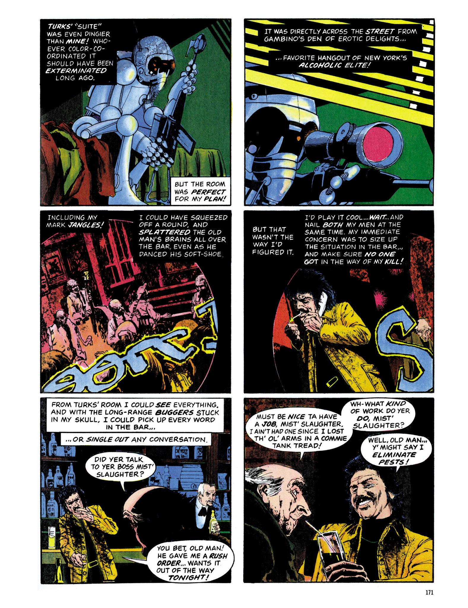 Read online Eerie Archives comic -  Issue # TPB 13 - 172