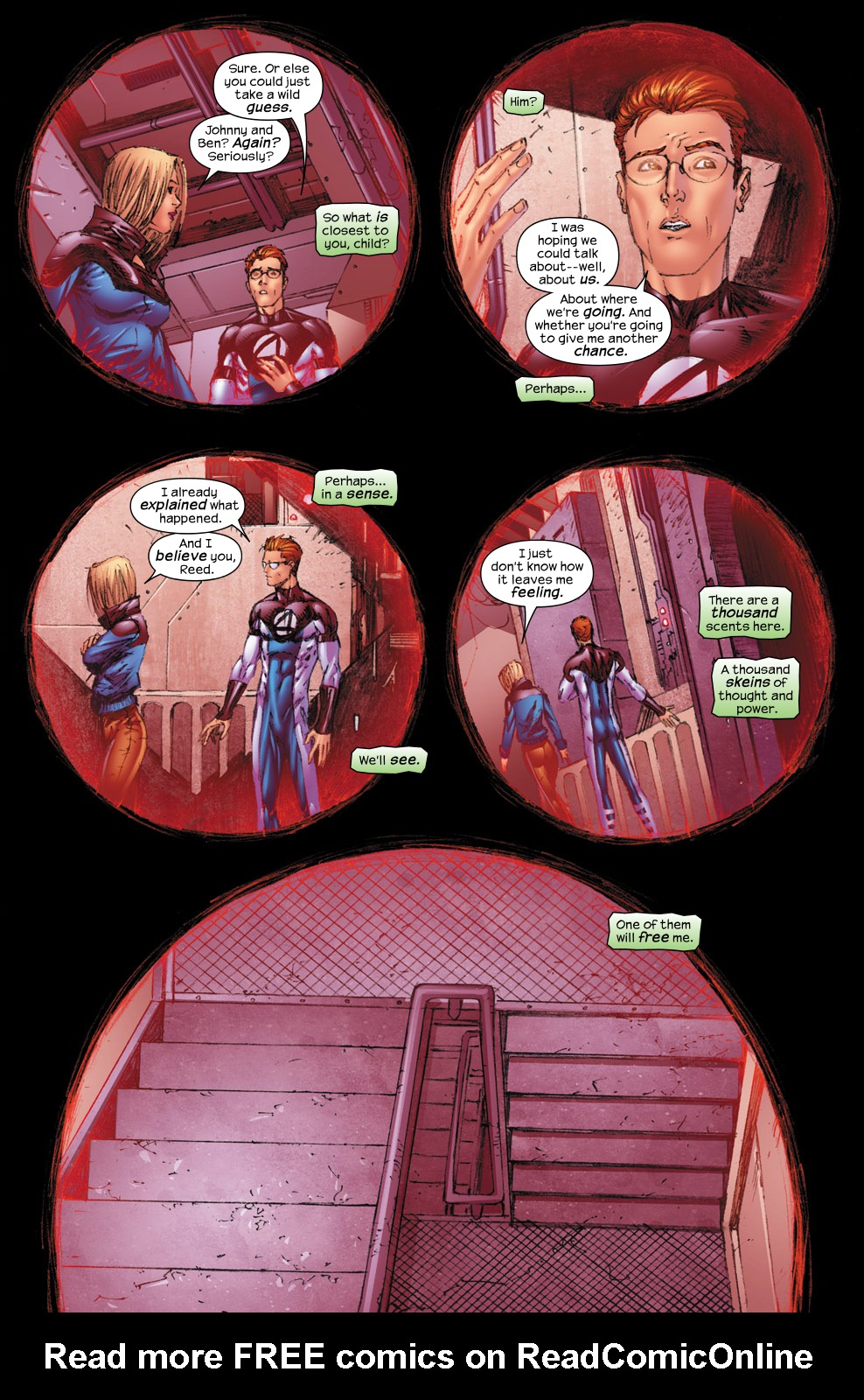 Read online Ultimate Fantastic Four (2004) comic -  Issue #54 - 11