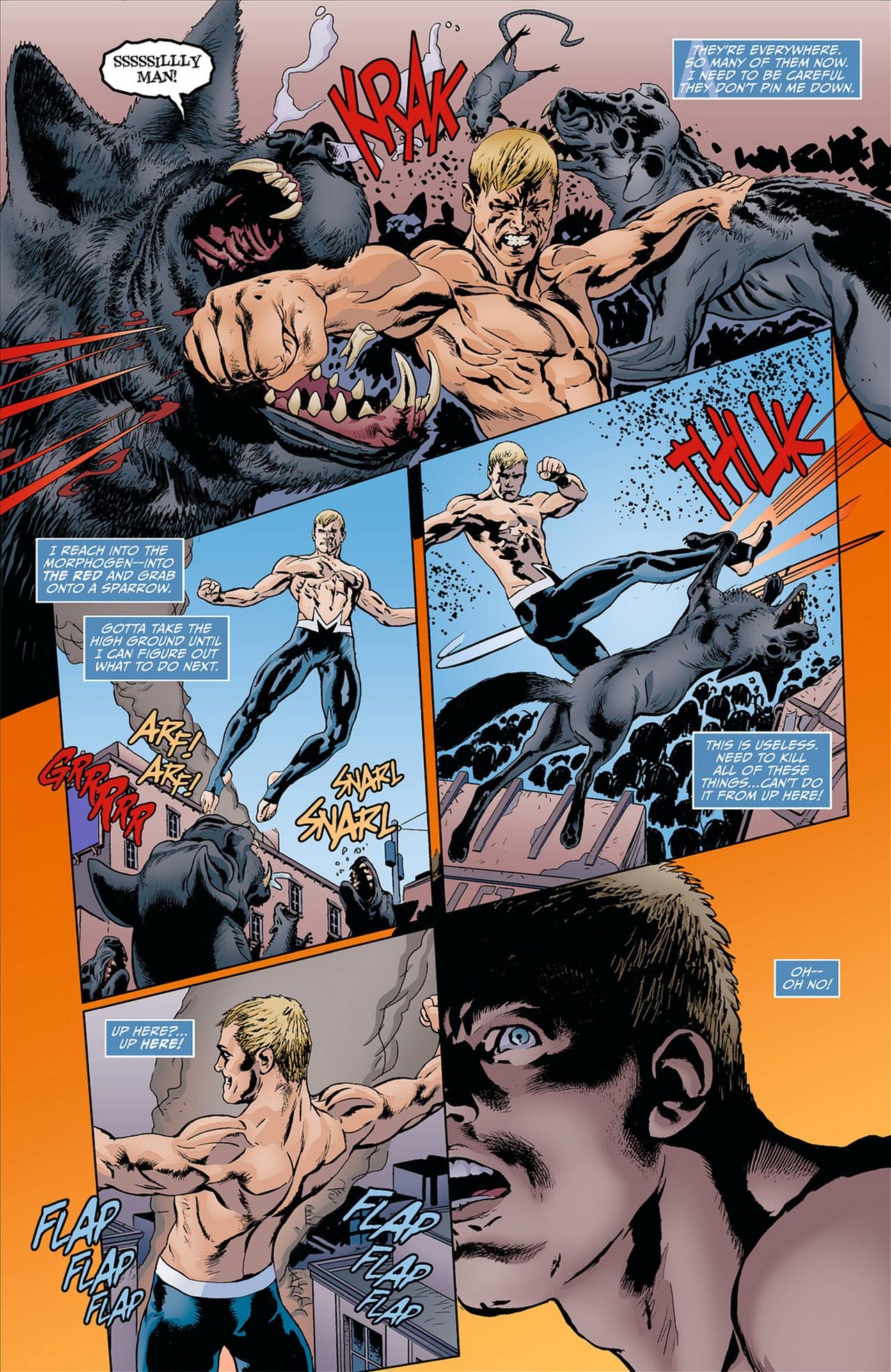 Read online Animal Man (2011) comic -  Issue #8 - 17