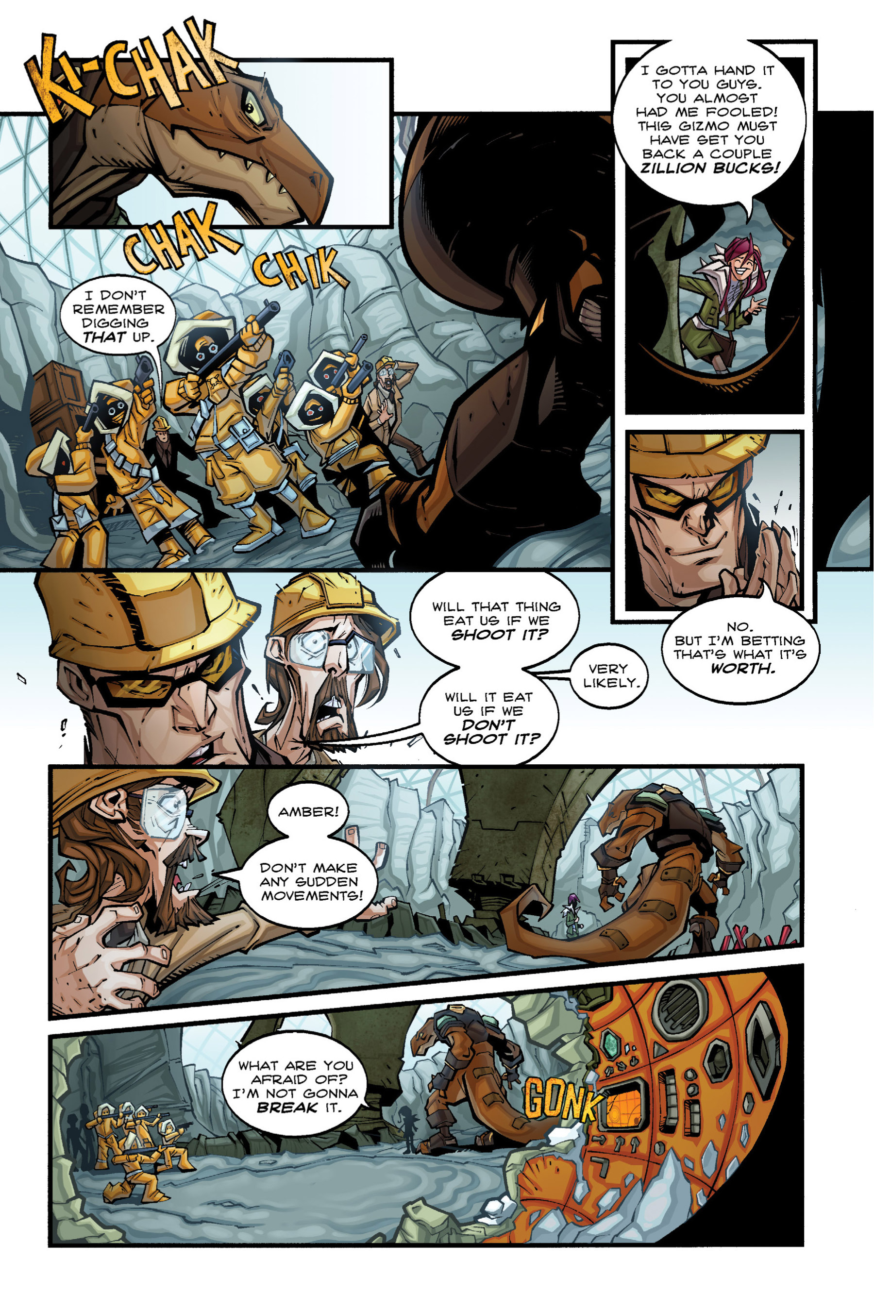 Read online Rexodus comic -  Issue # Full - 24