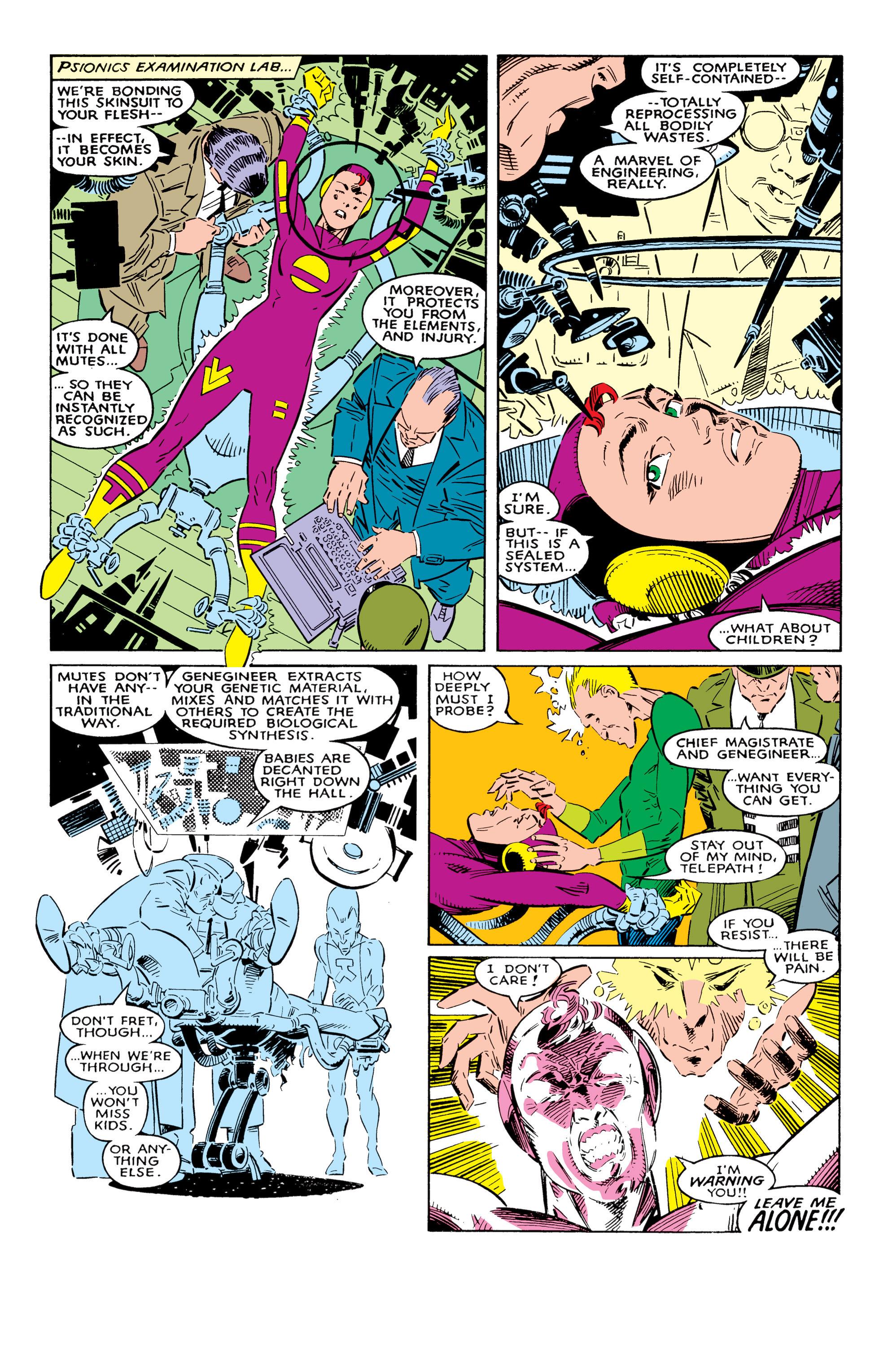 Read online Uncanny X-Men (1963) comic -  Issue #237 - 15