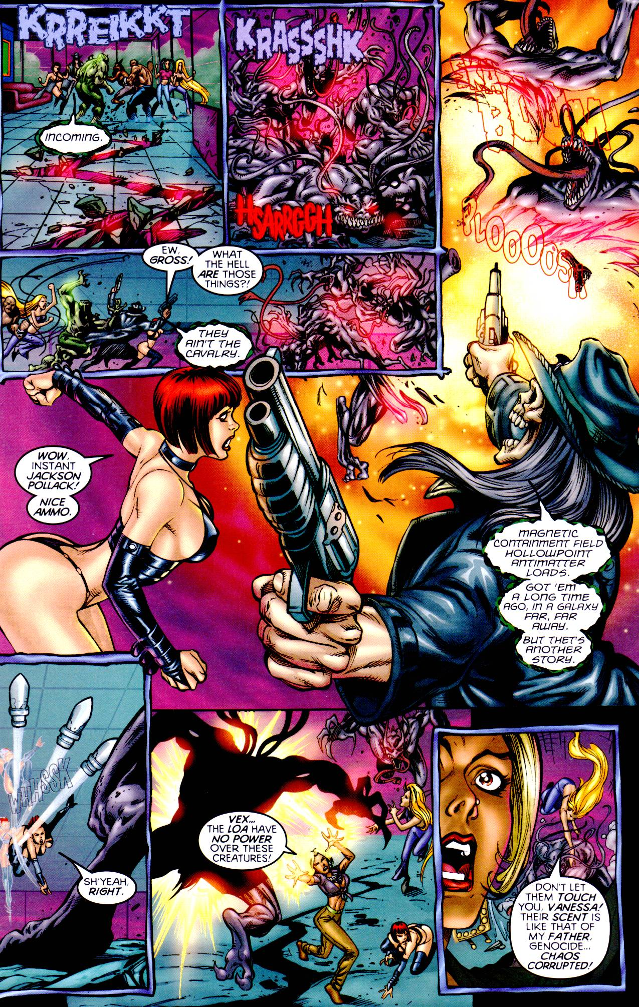 Read online Armageddon (1999) comic -  Issue #2 - 10