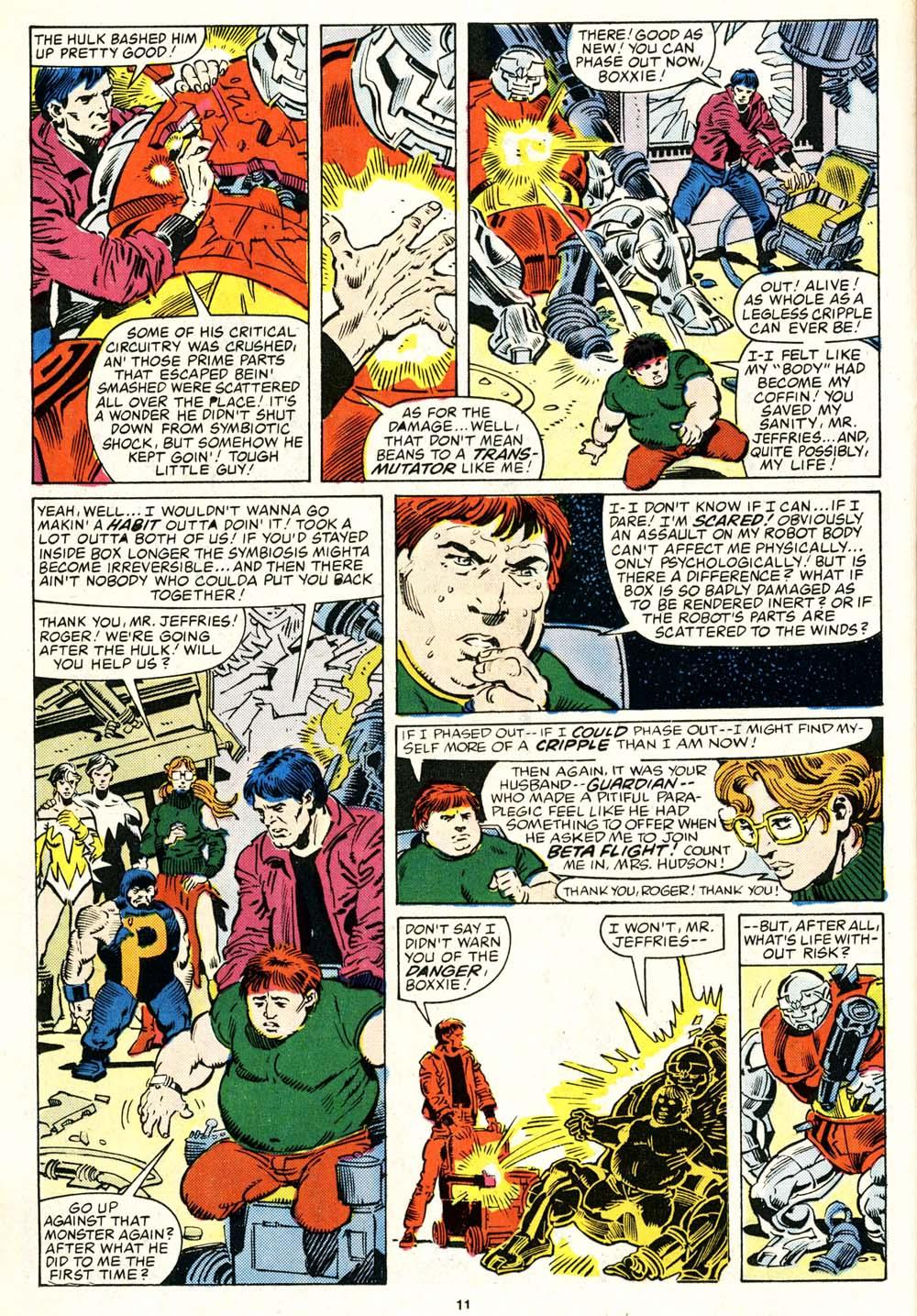 Read online Alpha Flight (1983) comic -  Issue #29 - 11