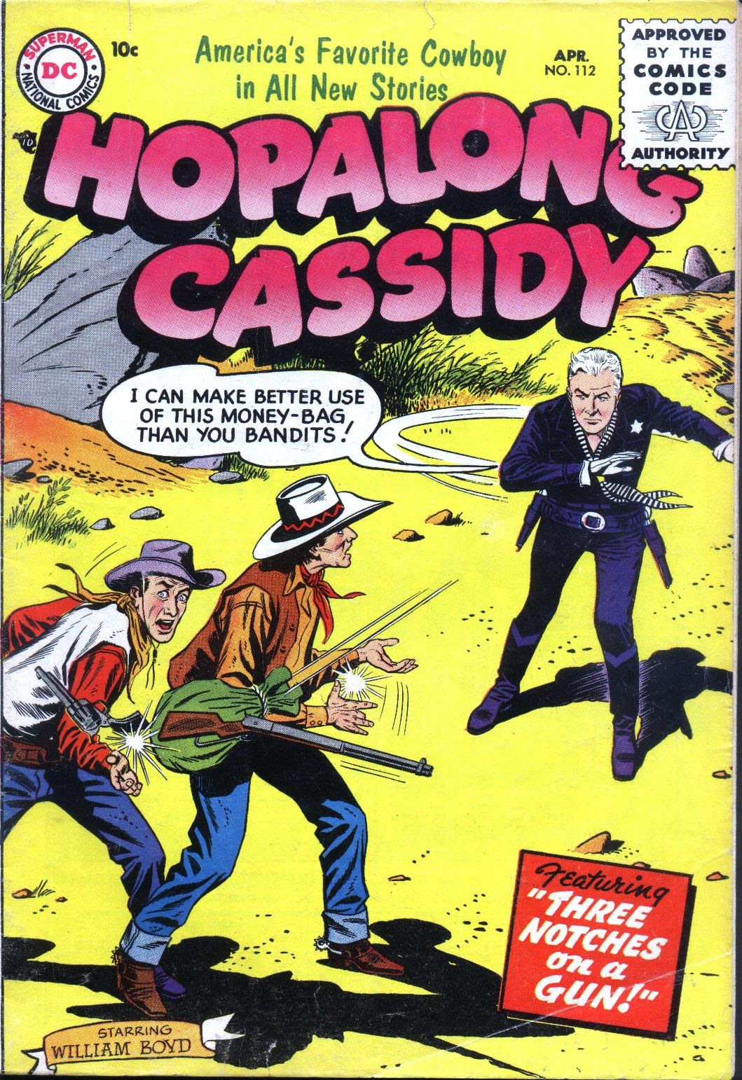 Hopalong Cassidy issue 112 - Page 1