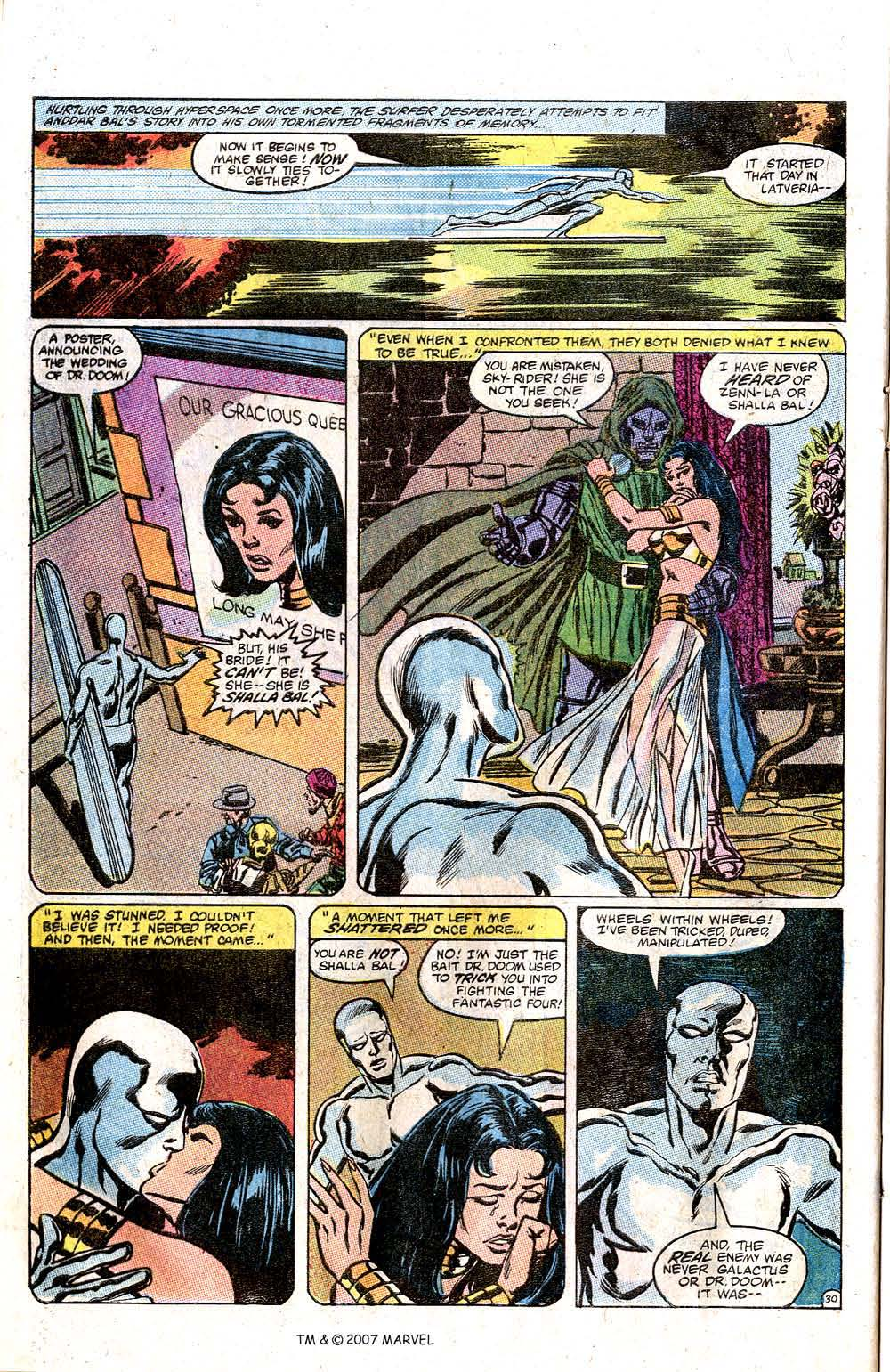 Read online Silver Surfer (1982) comic -  Issue # Full - 32