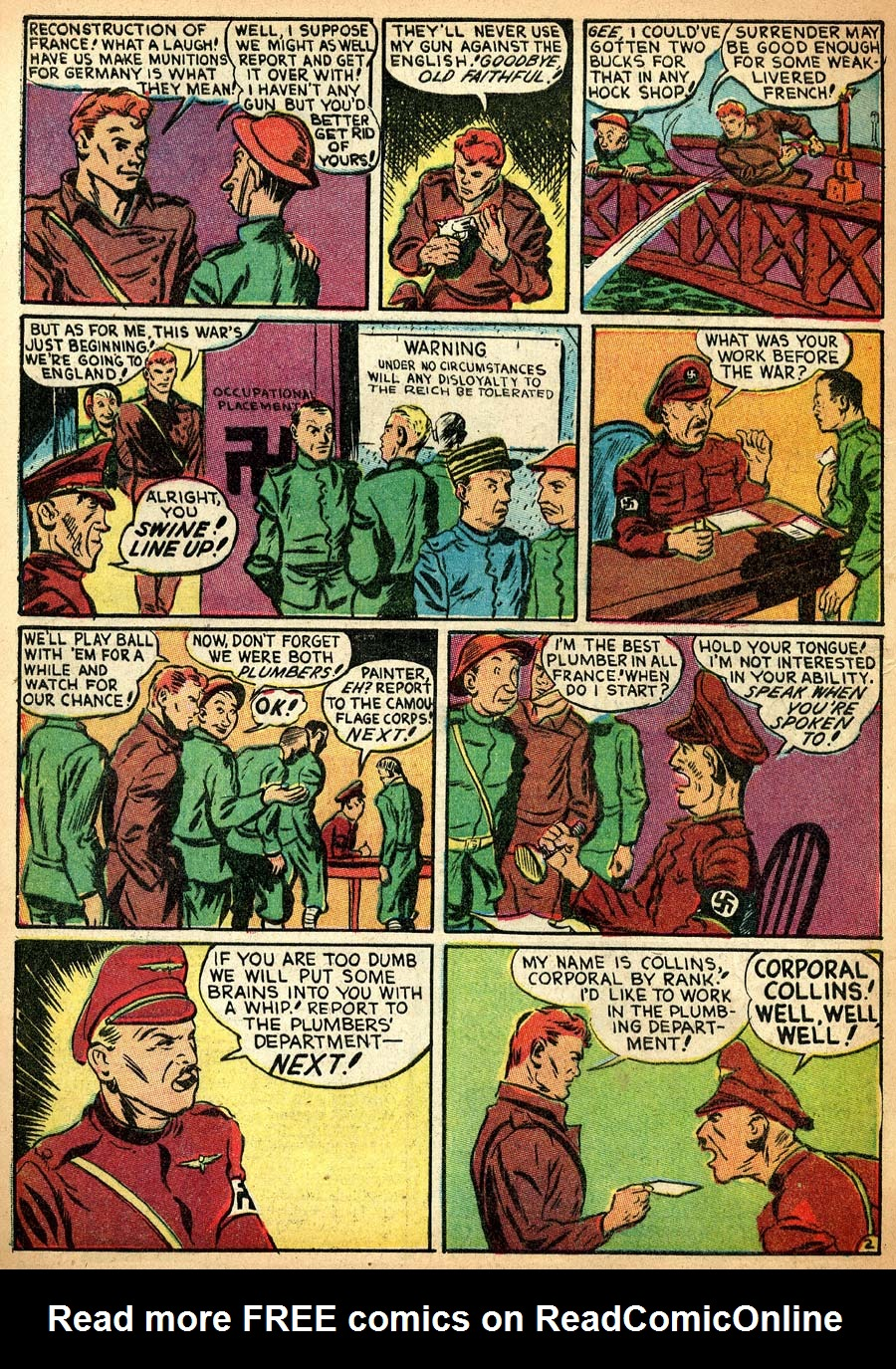Blue Ribbon Comics (1939) issue 8 - Page 36