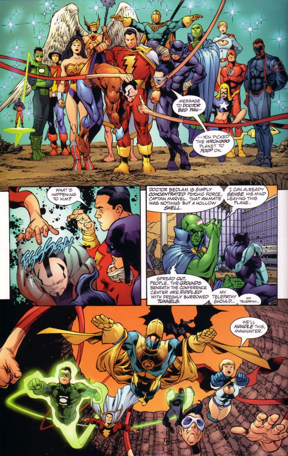Read online JLA/JSA: Virtue and Vice comic -  Issue # TPB - 15