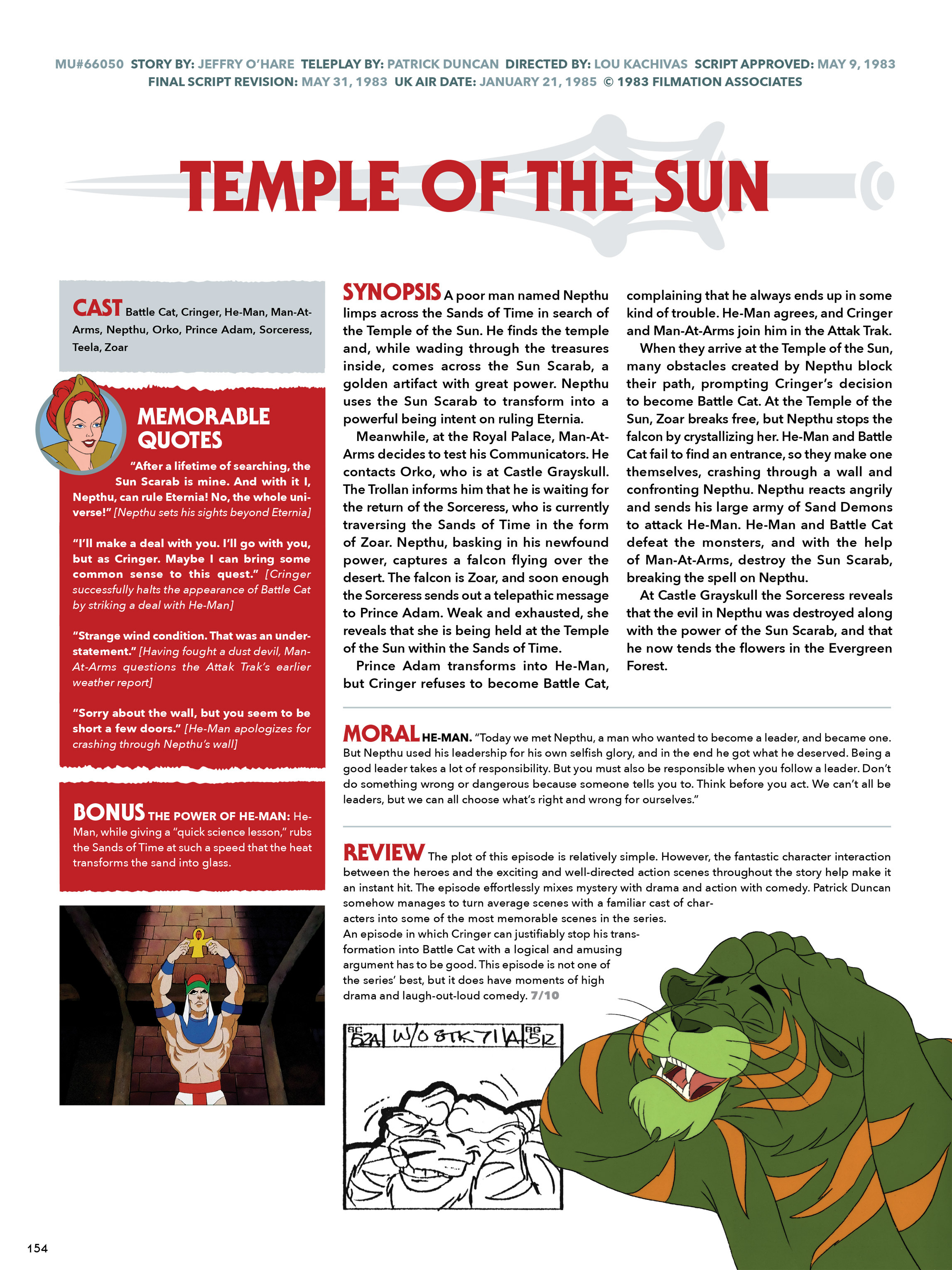 Read online He-Man and She-Ra: A Complete Guide to the Classic Animated Adventures comic -  Issue # TPB (Part 1) - 154