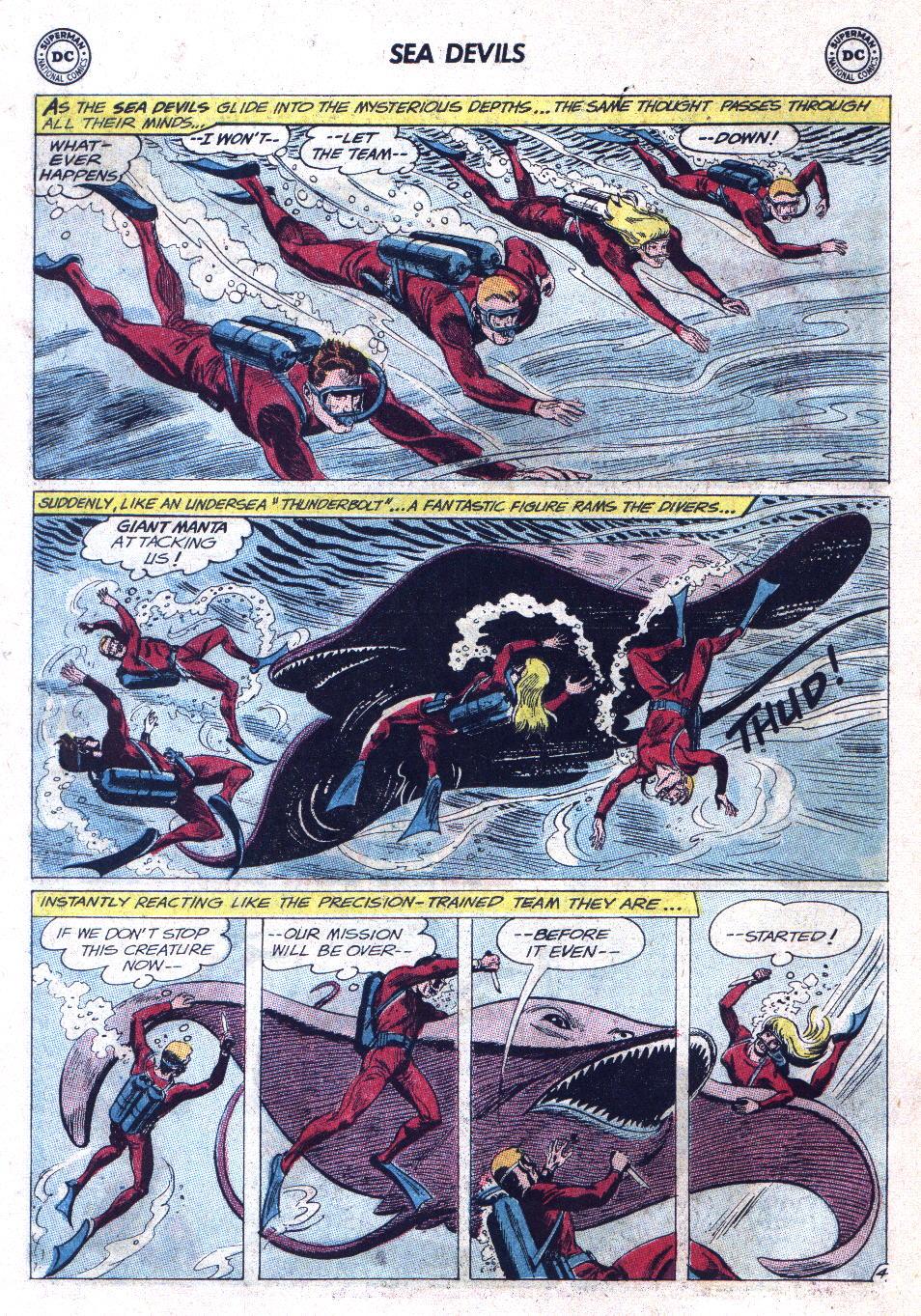 Read online Sea Devils comic -  Issue #11 - 6