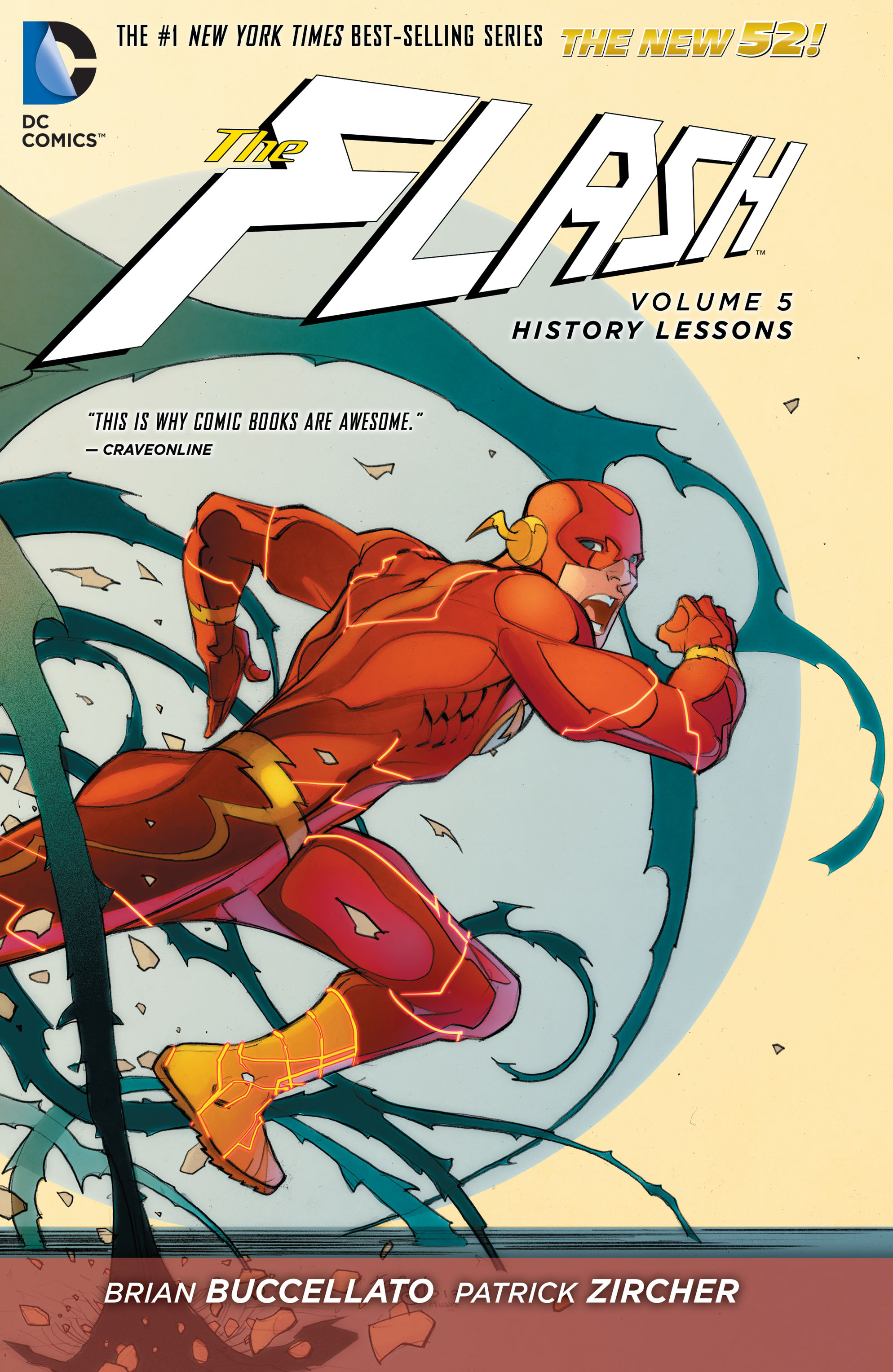 Read online The Flash (2011) comic -  Issue # _TPB 5 - 1