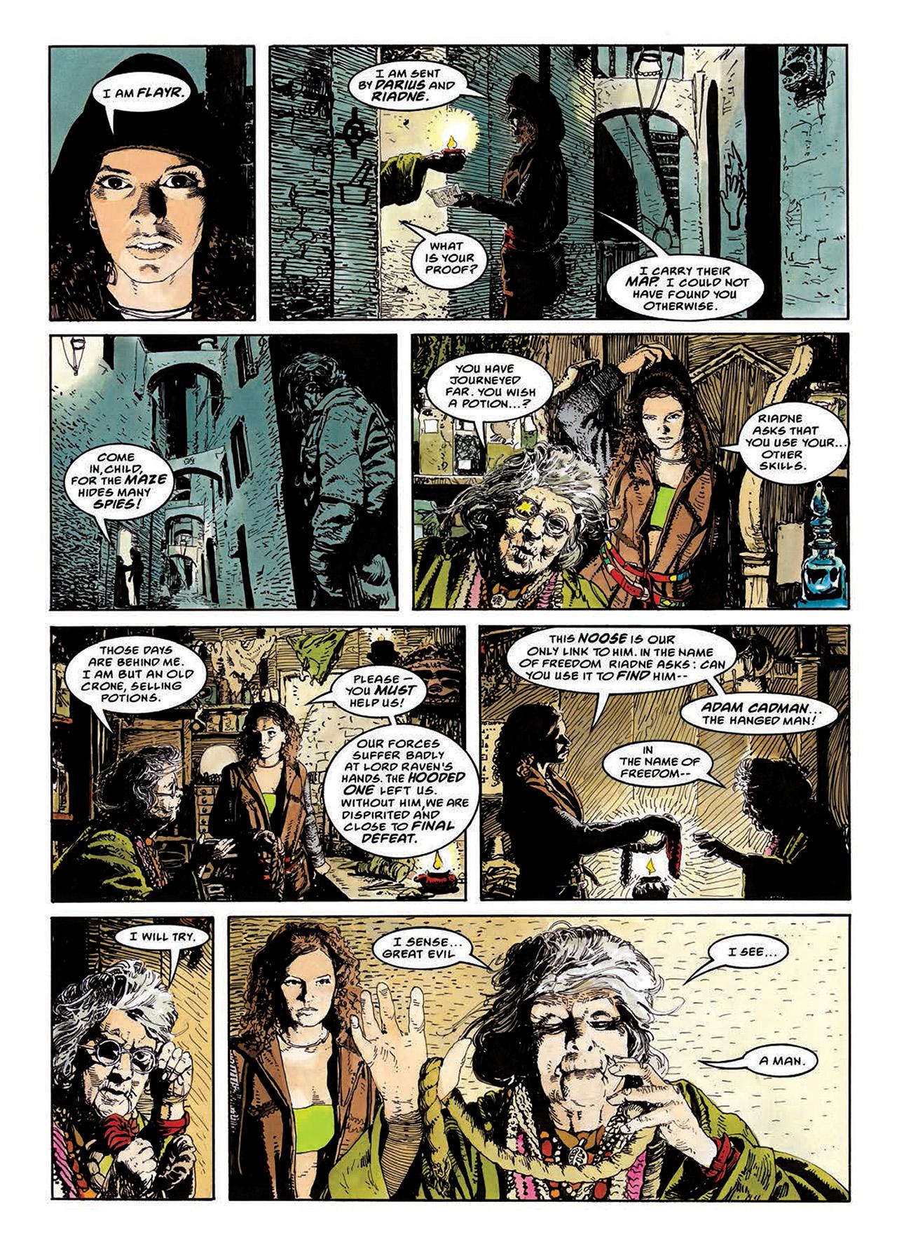 Read online Mazeworld comic -  Issue # TPB - 70